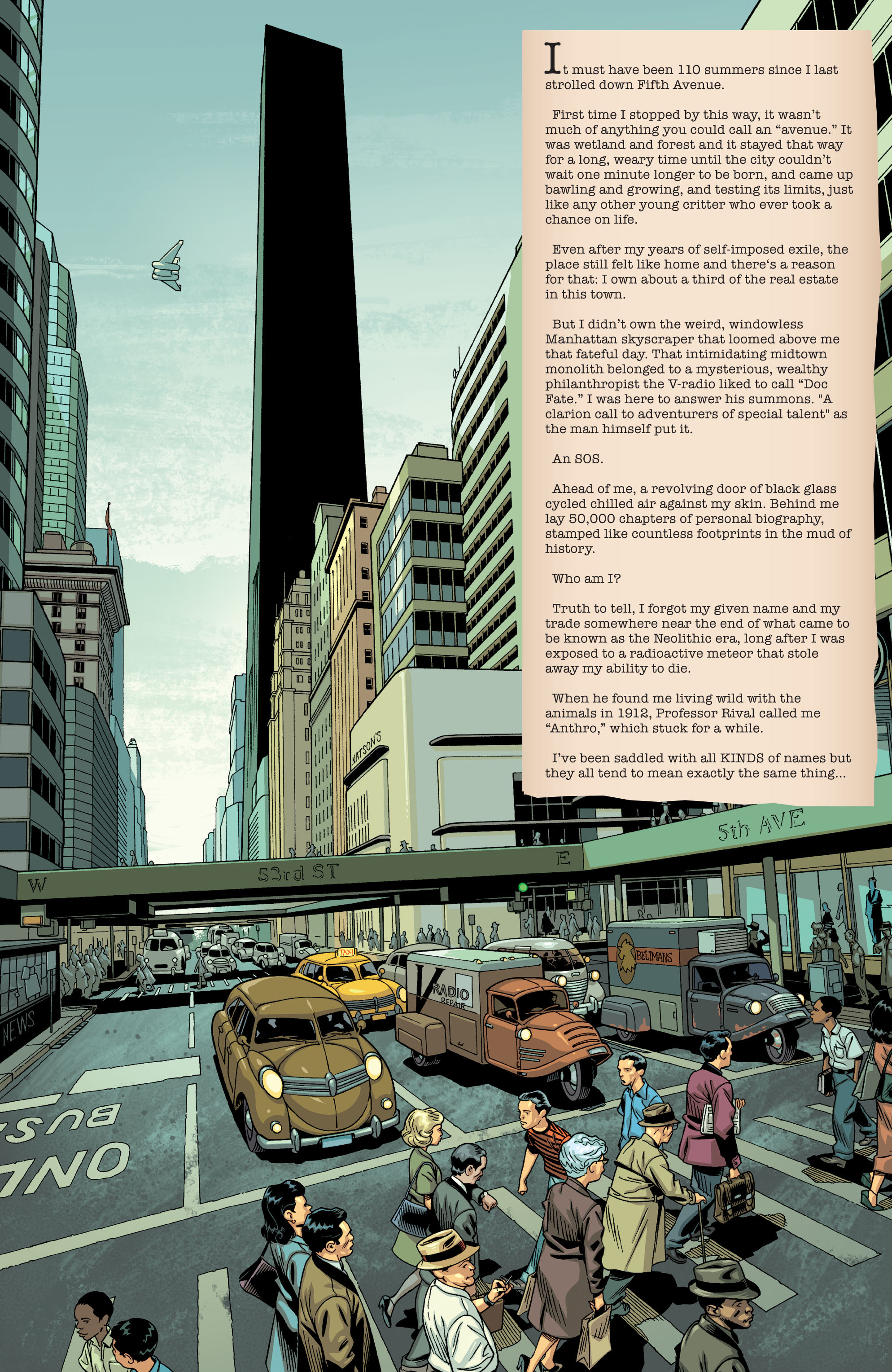 The Multiversity: The Society of Super-Heroes: Conquerors of the Counter-World Full Page 2