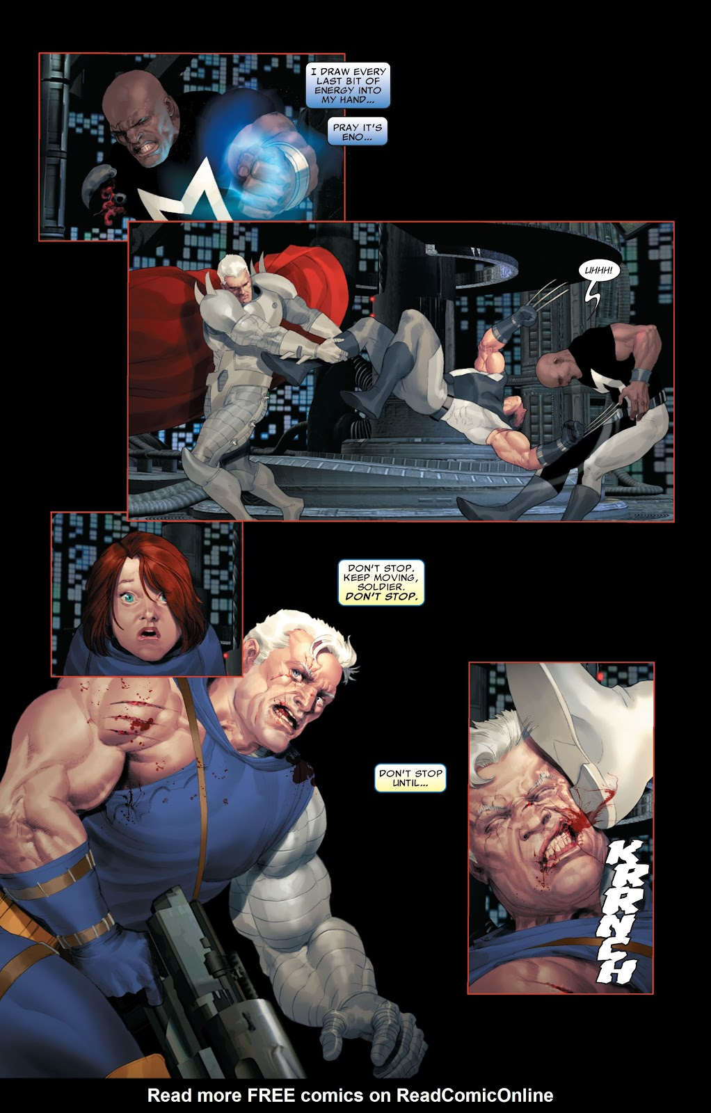 Read online X-Force/Cable: Messiah War comic -  Issue # _TPB (Part 2) - 111
