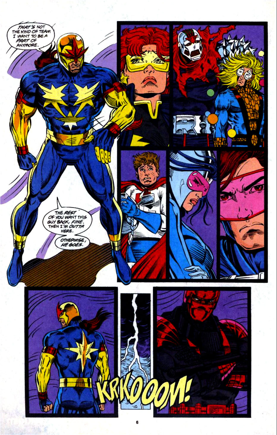 The New Warriors Issue #57 #61 - English 6