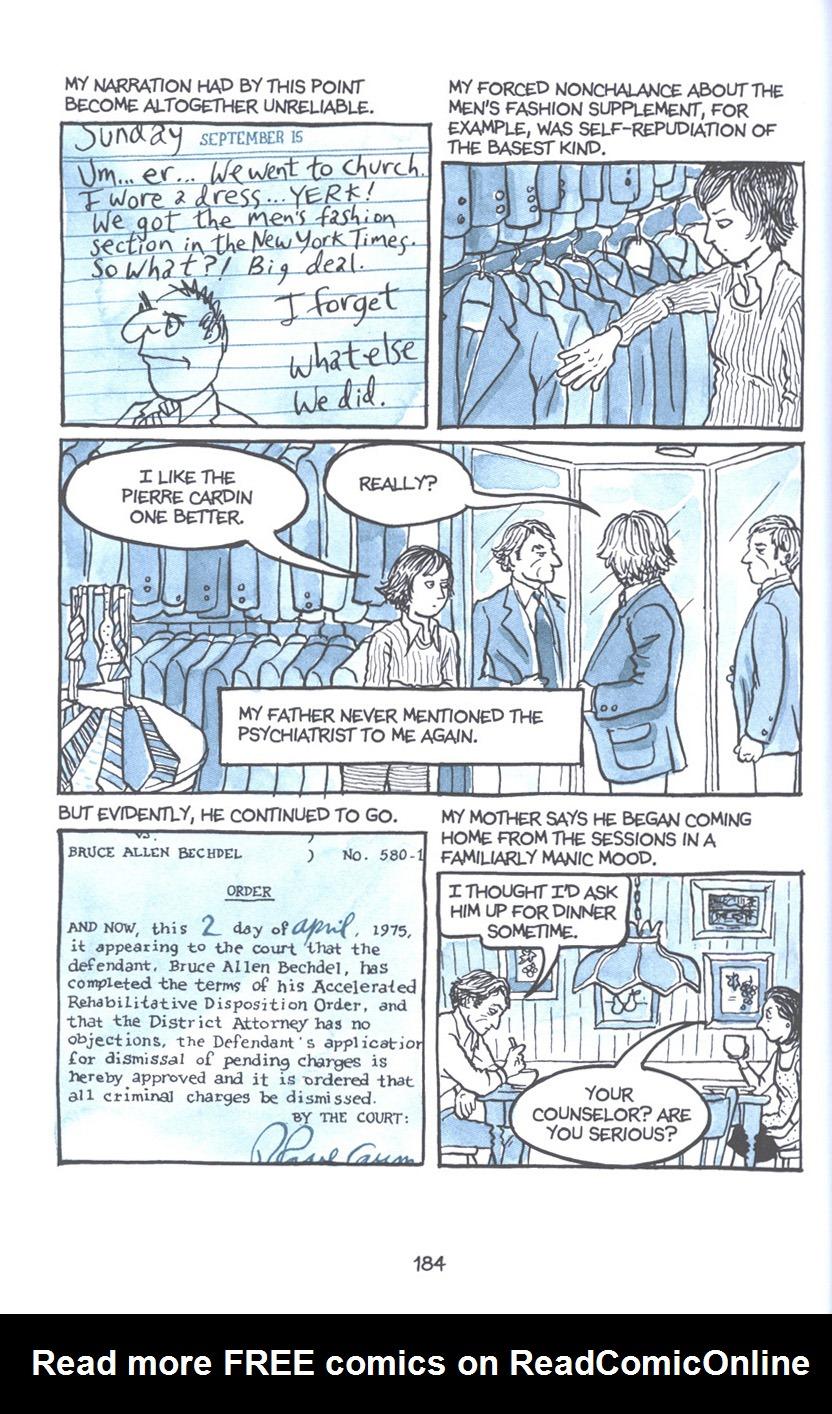 Read online Fun Home: A Family Tragicomic comic -  Issue # TPB - 190