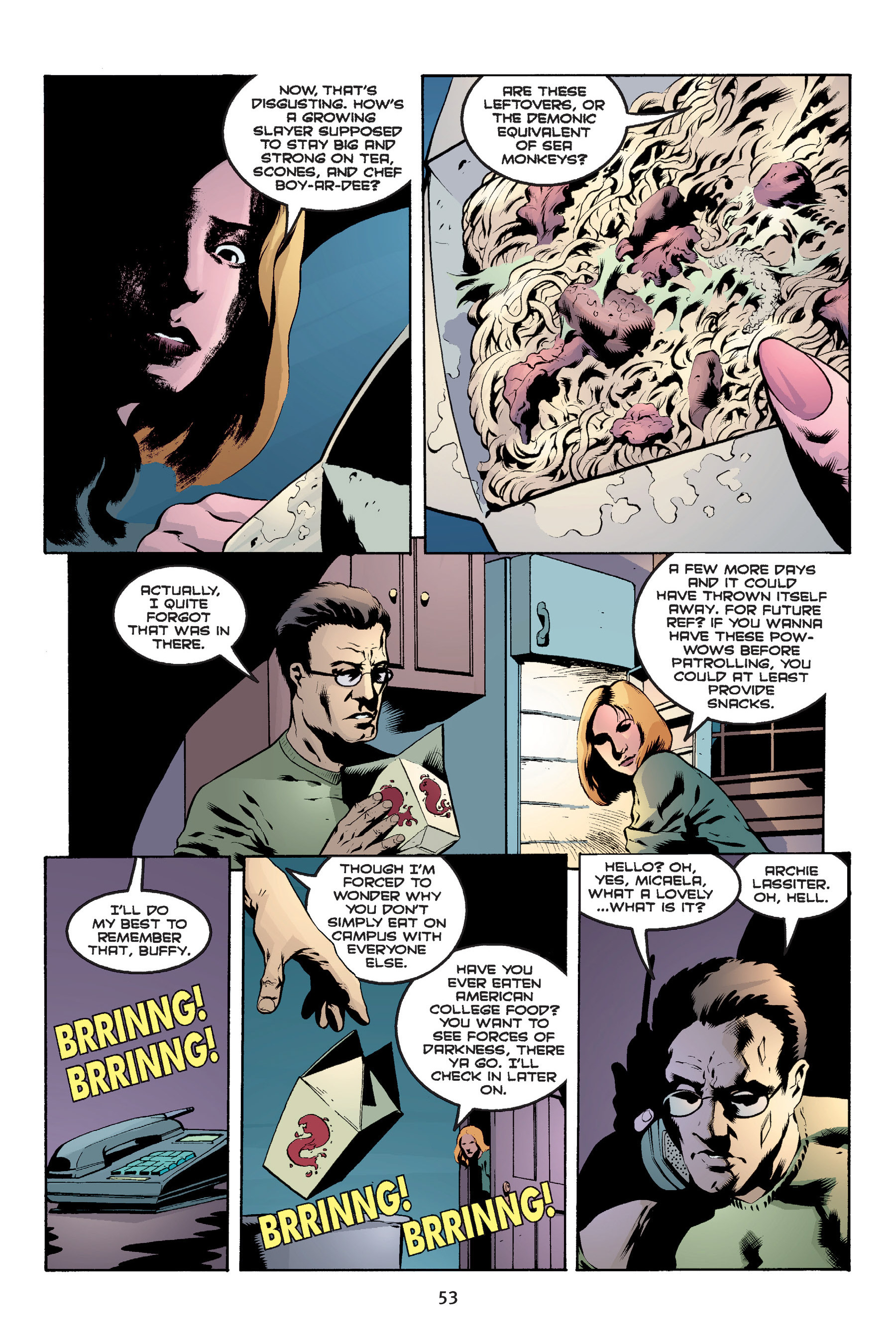 Read online Buffy the Vampire Slayer: Omnibus comic -  Issue # TPB 6 - 54