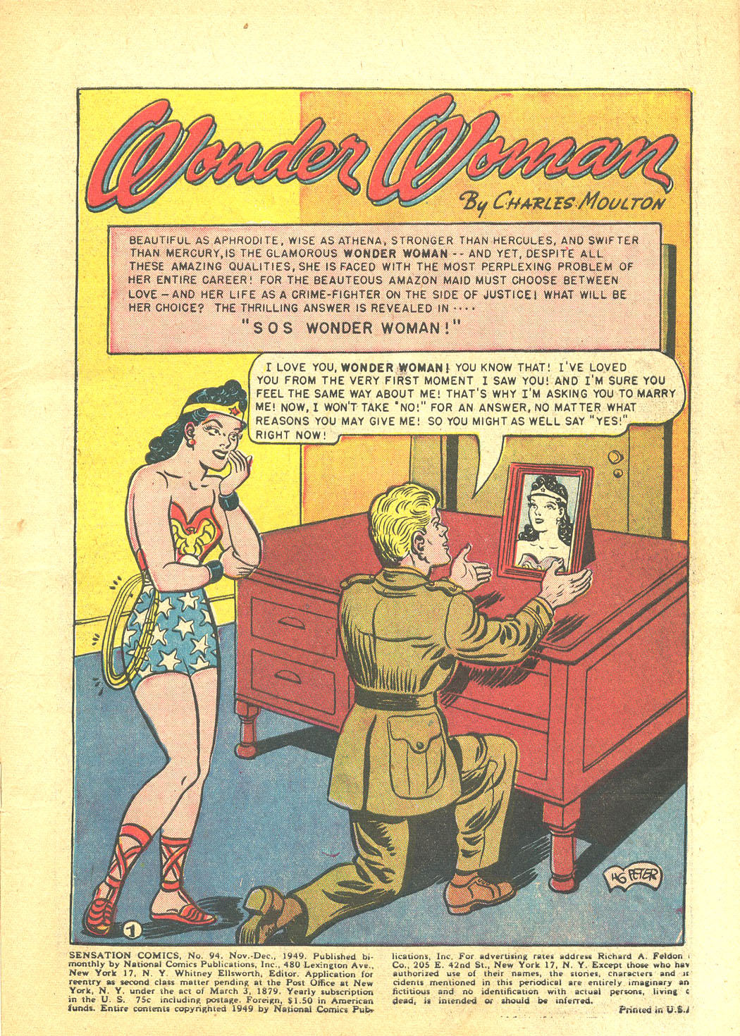 Read online Sensation (Mystery) Comics comic -  Issue #94 - 3
