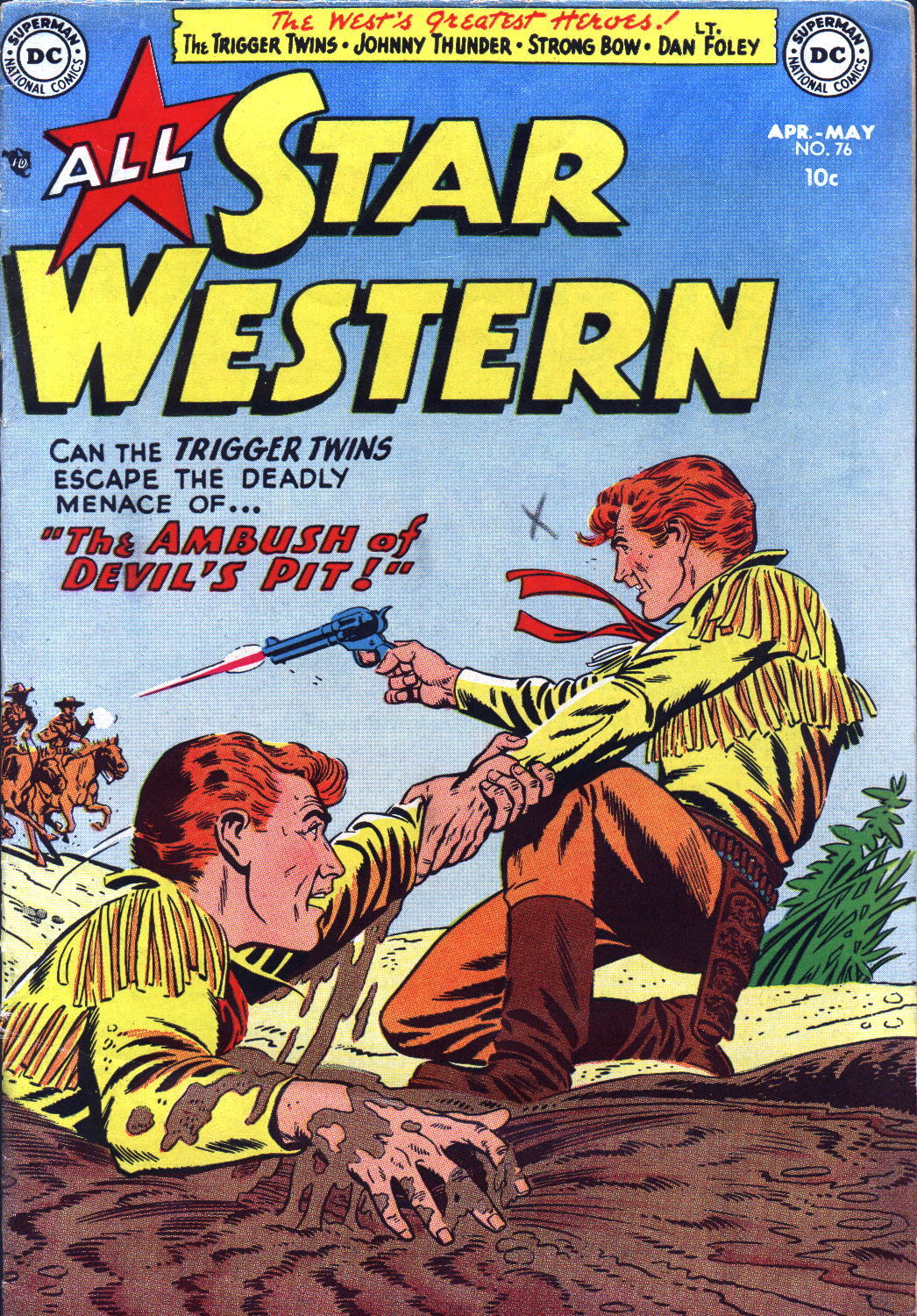 Read online All-Star Western (1951) comic -  Issue #76 - 1