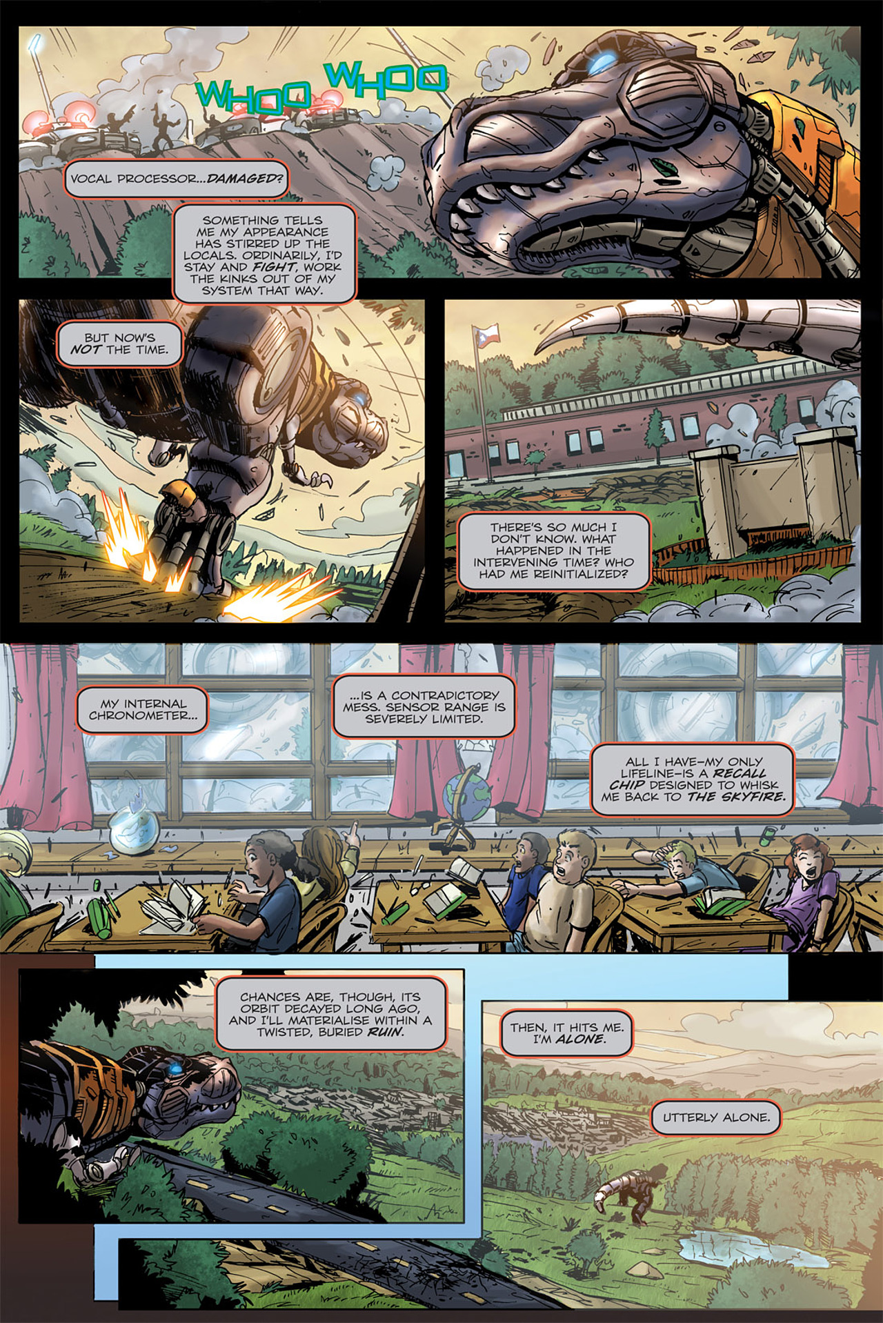 Read online Transformers Spotlight: Grimlock comic -  Issue # Full - 15