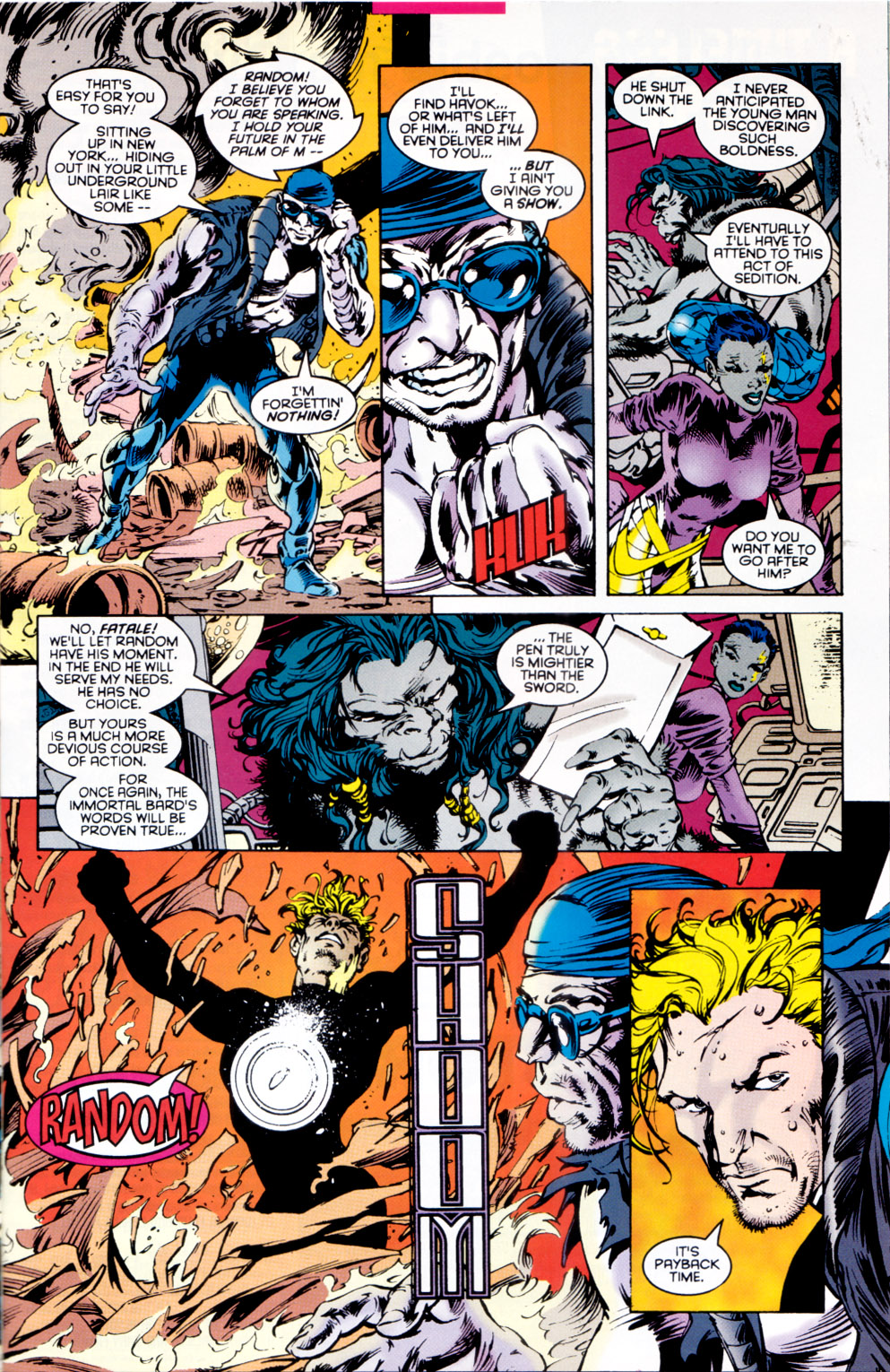 Read online X-Factor (1986) comic -  Issue #118 - 7