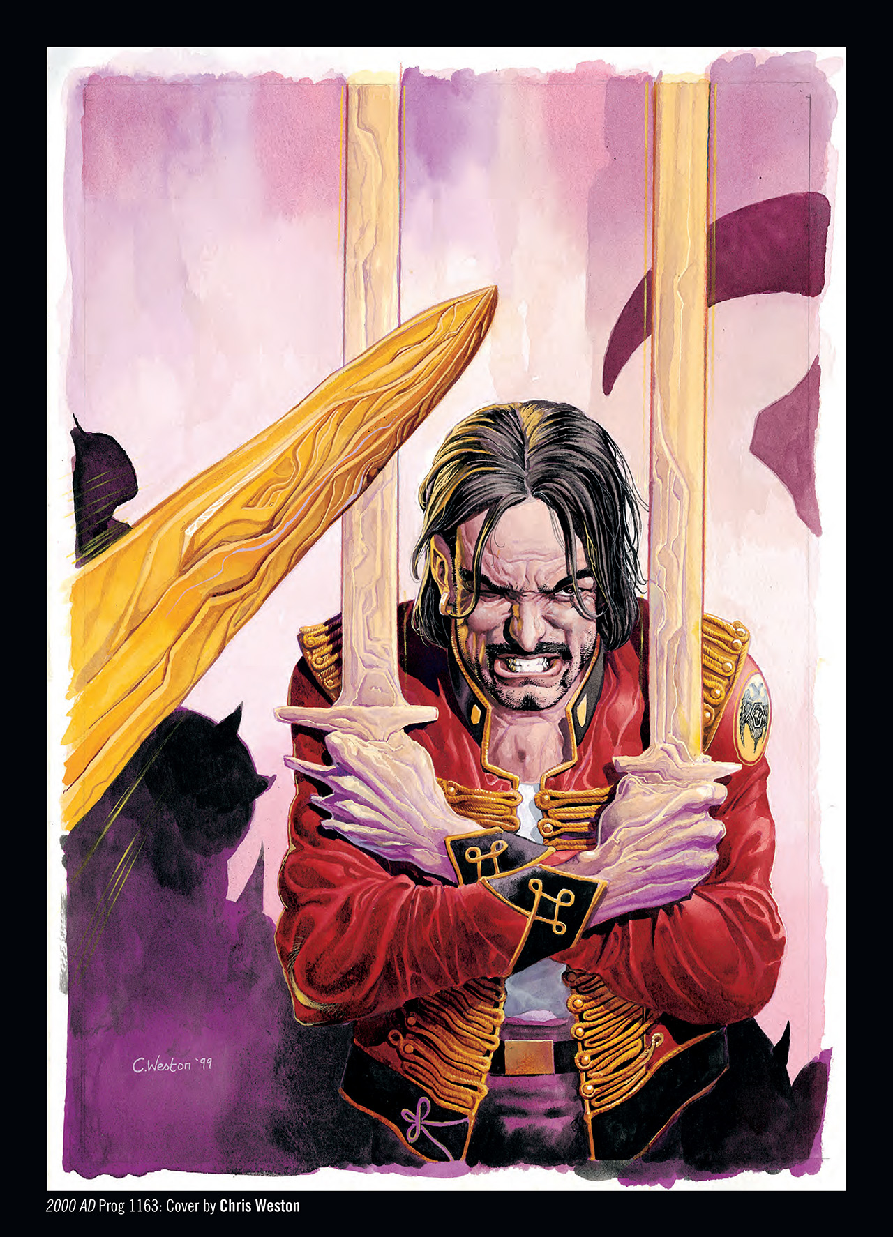 Read online Nikolai Dante comic -  Issue # TPB 3 - 136
