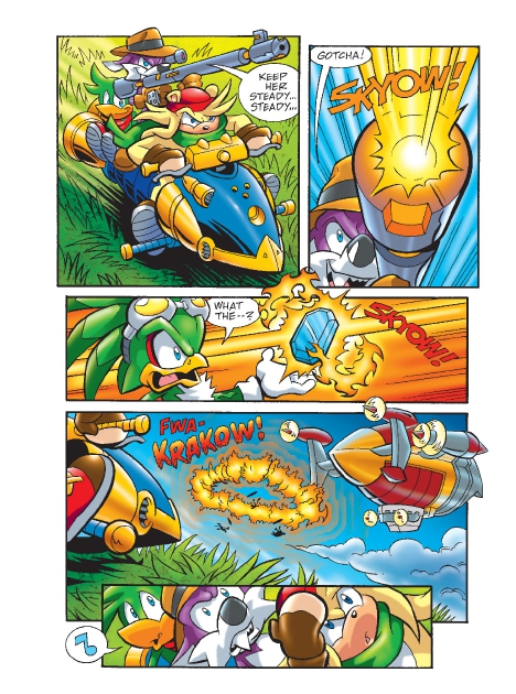 Read online Sonic Comics Spectacular: Speed of Sound comic -  Issue # Full - 183