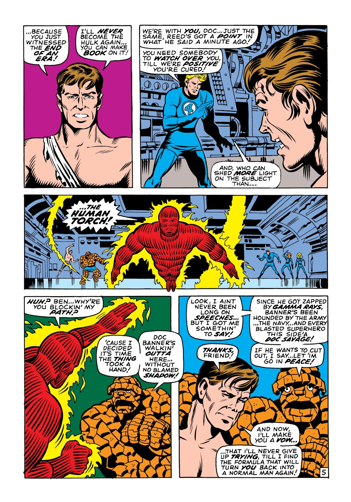 Read online Marvel Masterworks: The Incredible Hulk comic -  Issue # TPB 6 (Part 1) - 35