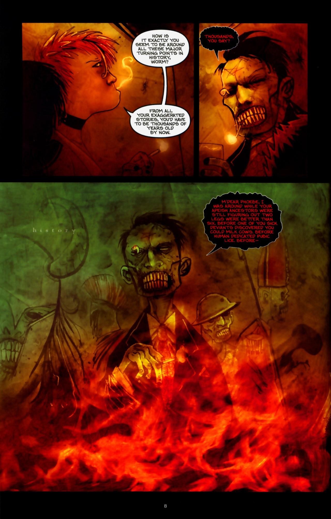 Read online Wormwood: Gentleman Corpse comic -  Issue #9 - 10