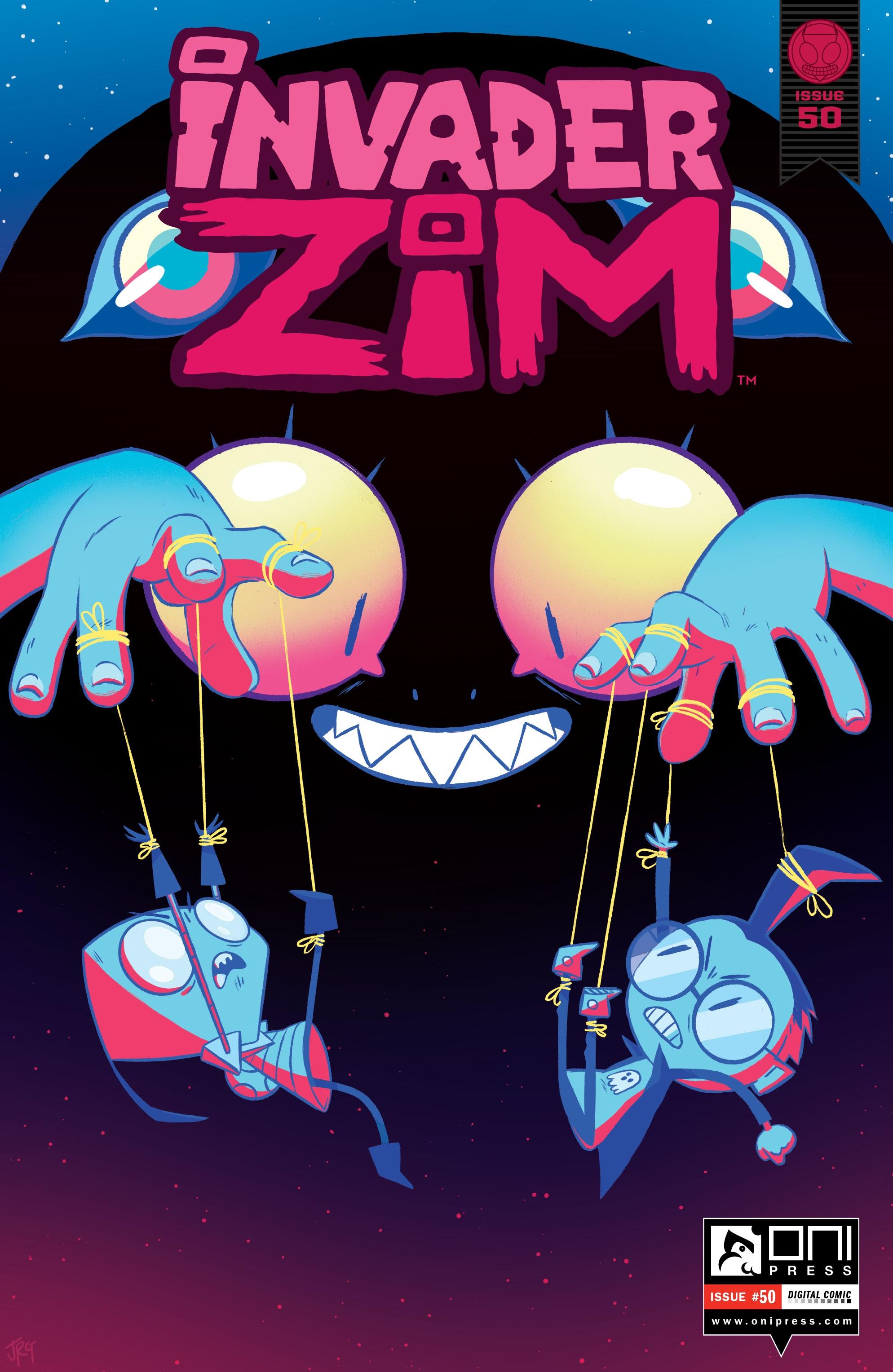 Invader Zim 50 Page 1