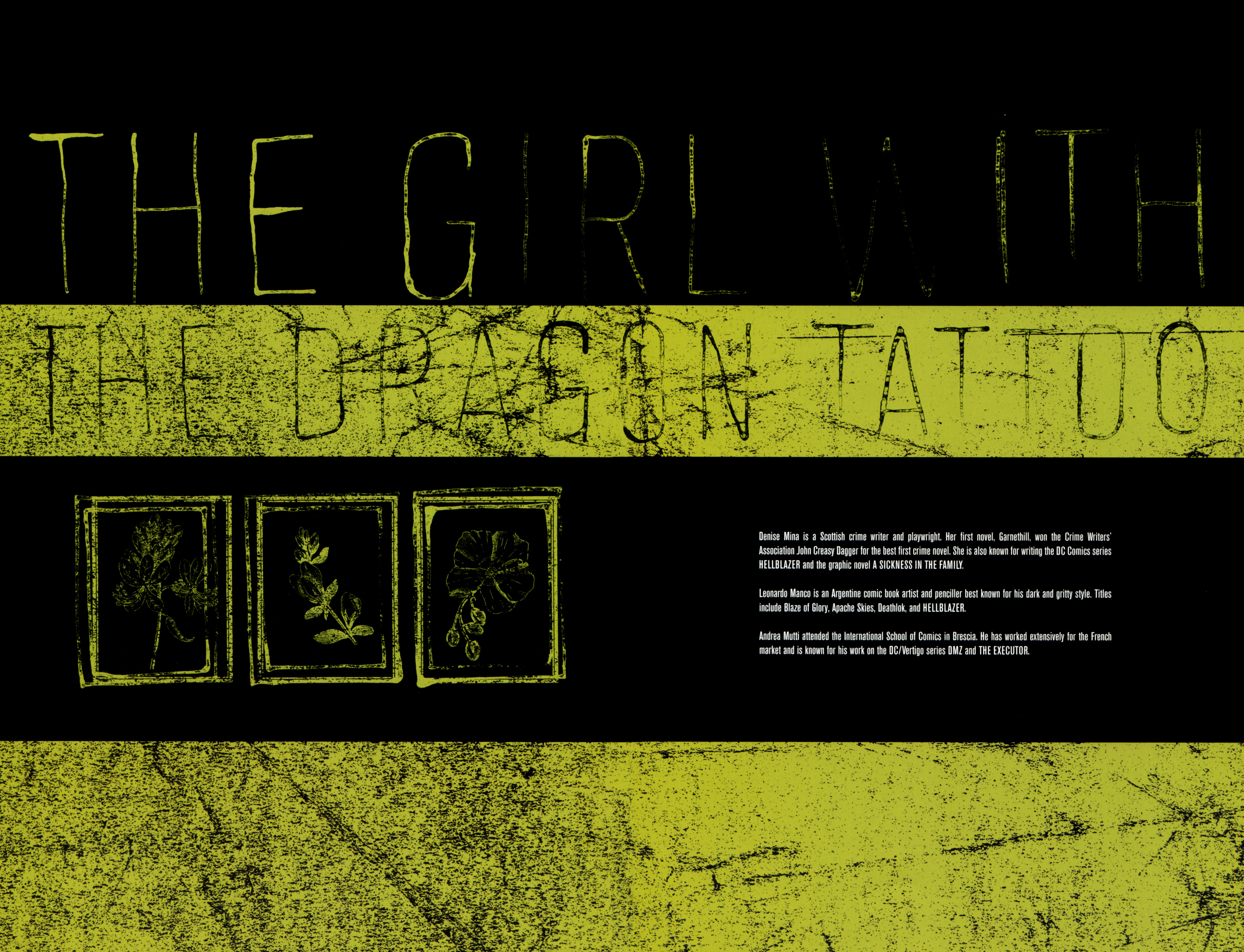 Read online The Girl With the Dragon Tattoo comic -  Issue # TPB 1 - 151