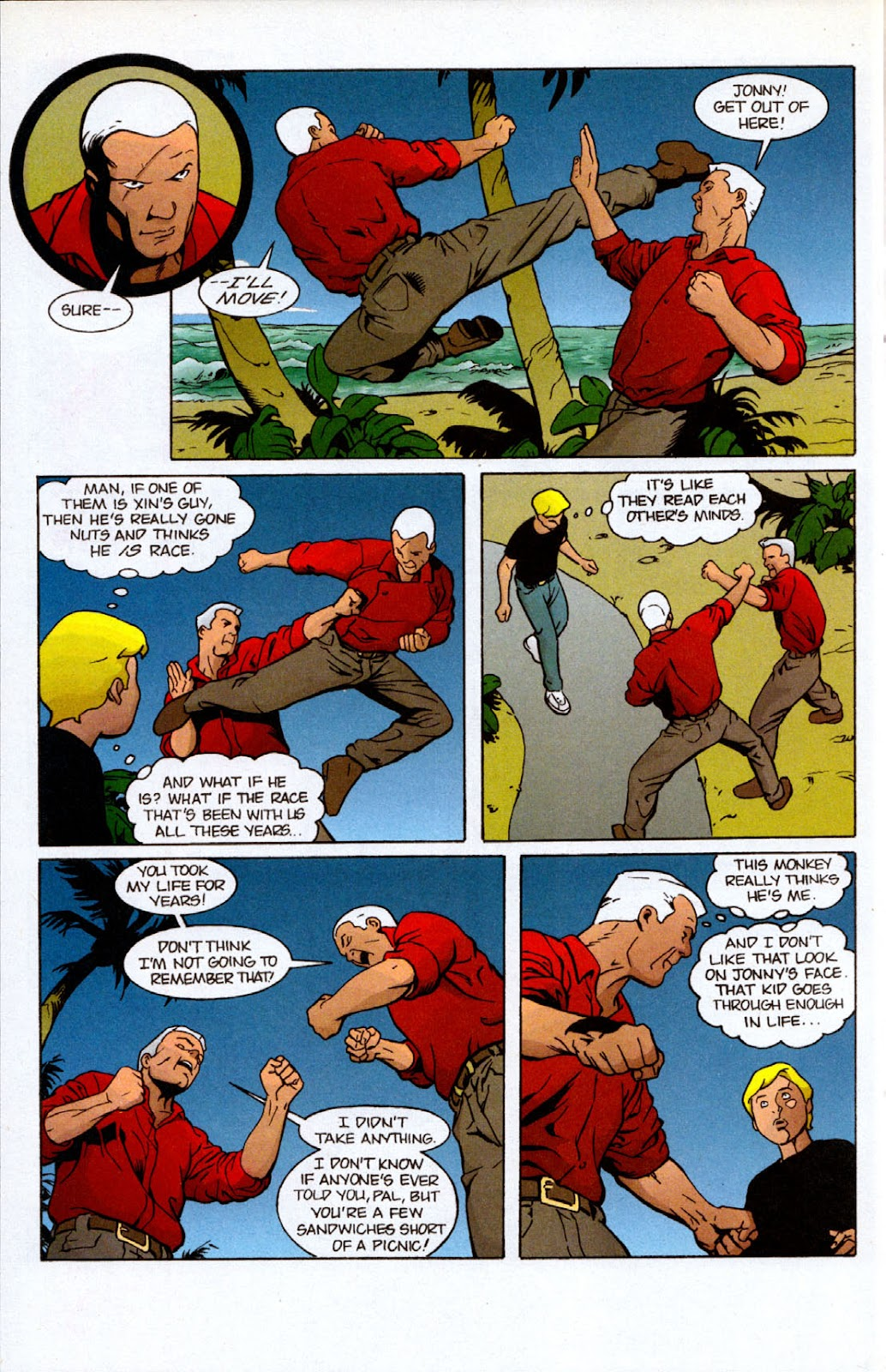 Read online The Real Adventures of Jonny Quest comic -  Issue #7 - 24