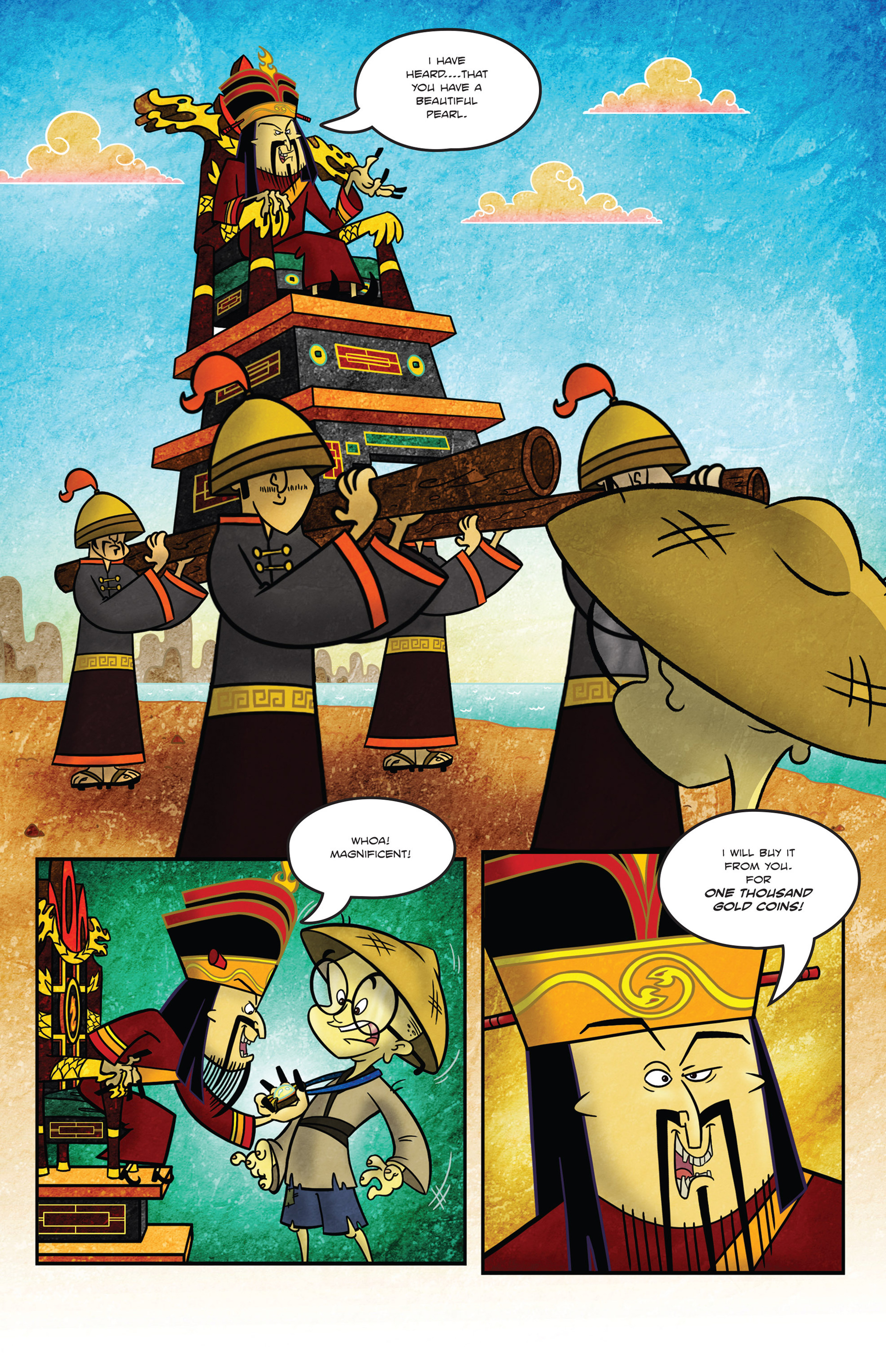 Read online 1001 Nights comic -  Issue #1 - 8