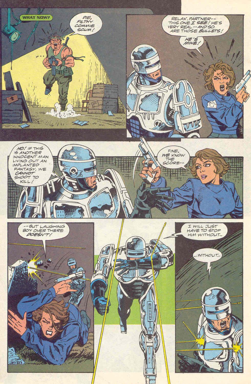 Read online Robocop (1990) comic -  Issue #16 - 17
