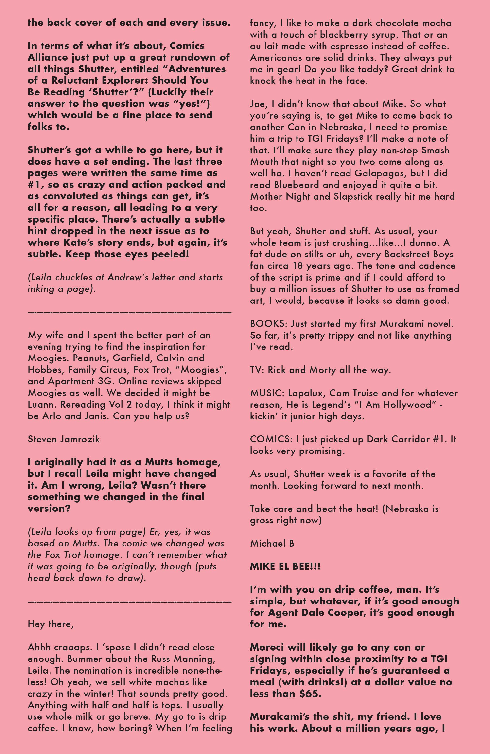 Read online Shutter comic -  Issue #15 - 23