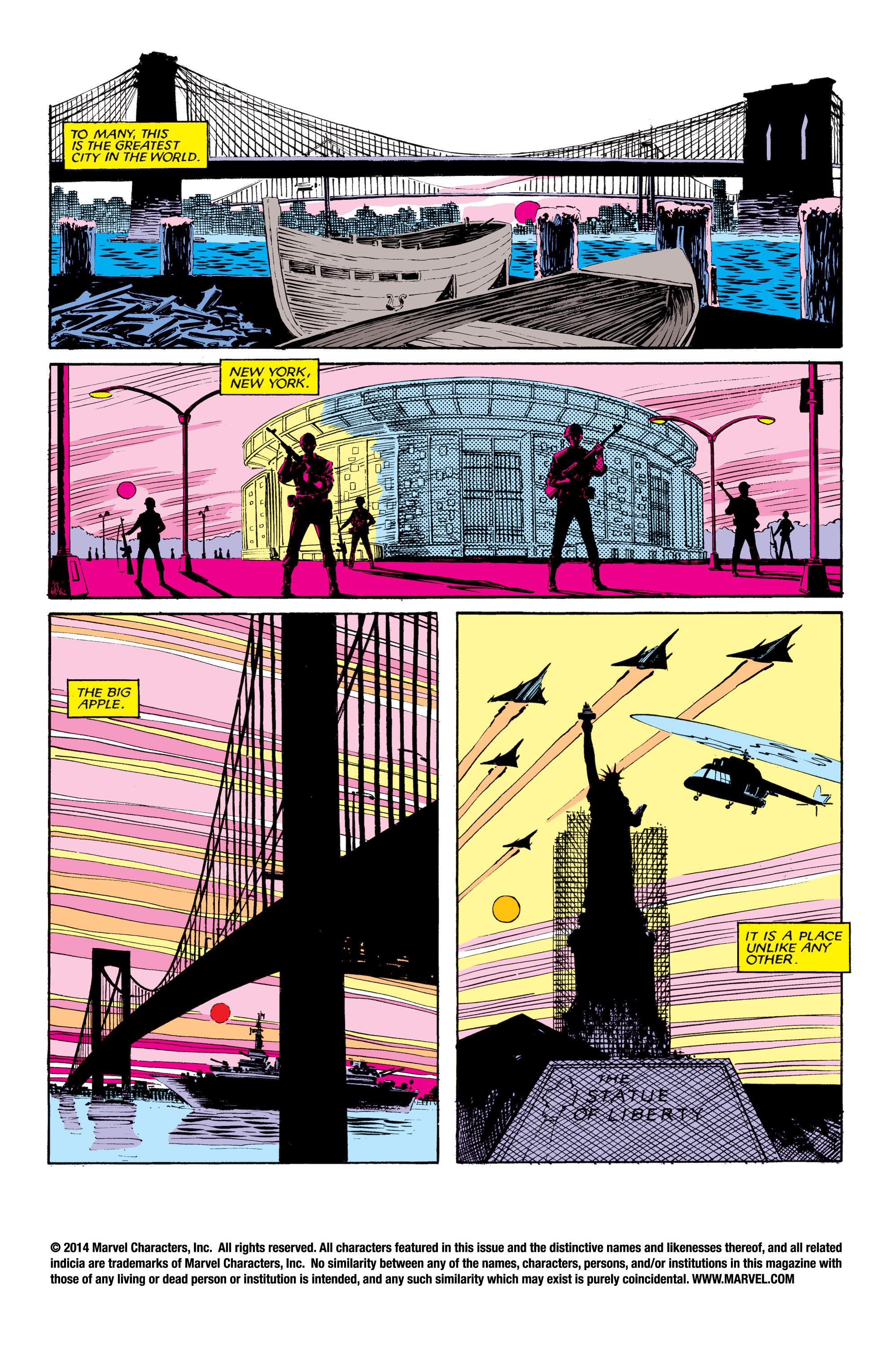 Read online Uncanny X-Men (1963) comic -  Issue #190 - 2