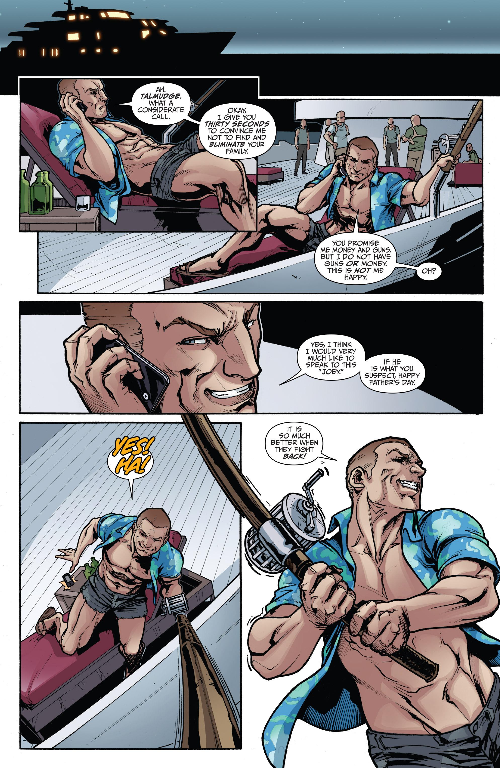 Read online 3 Guns comic -  Issue #3 - 8
