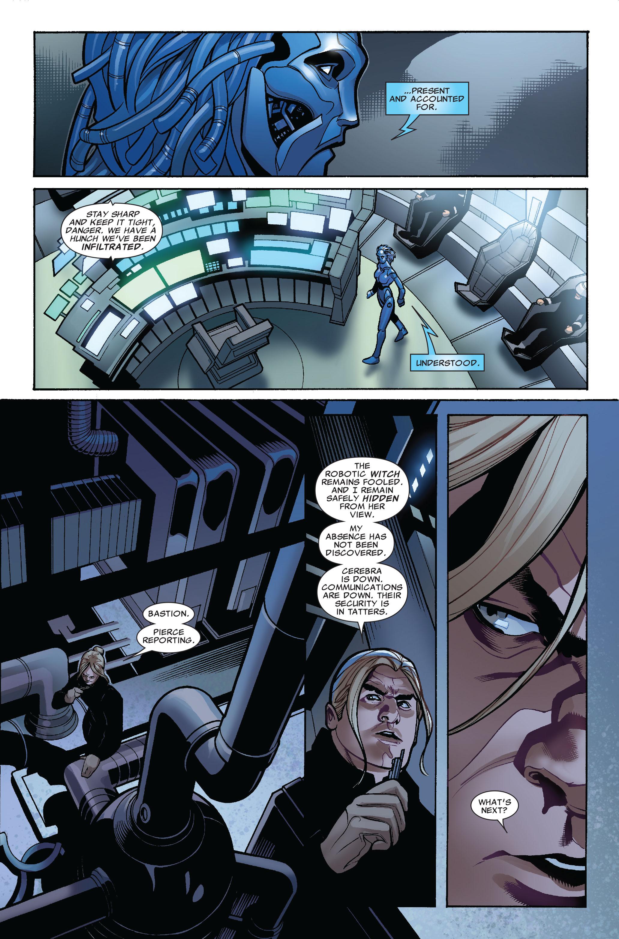Read online Uncanny X-Men (1963) comic -  Issue #524 - 11