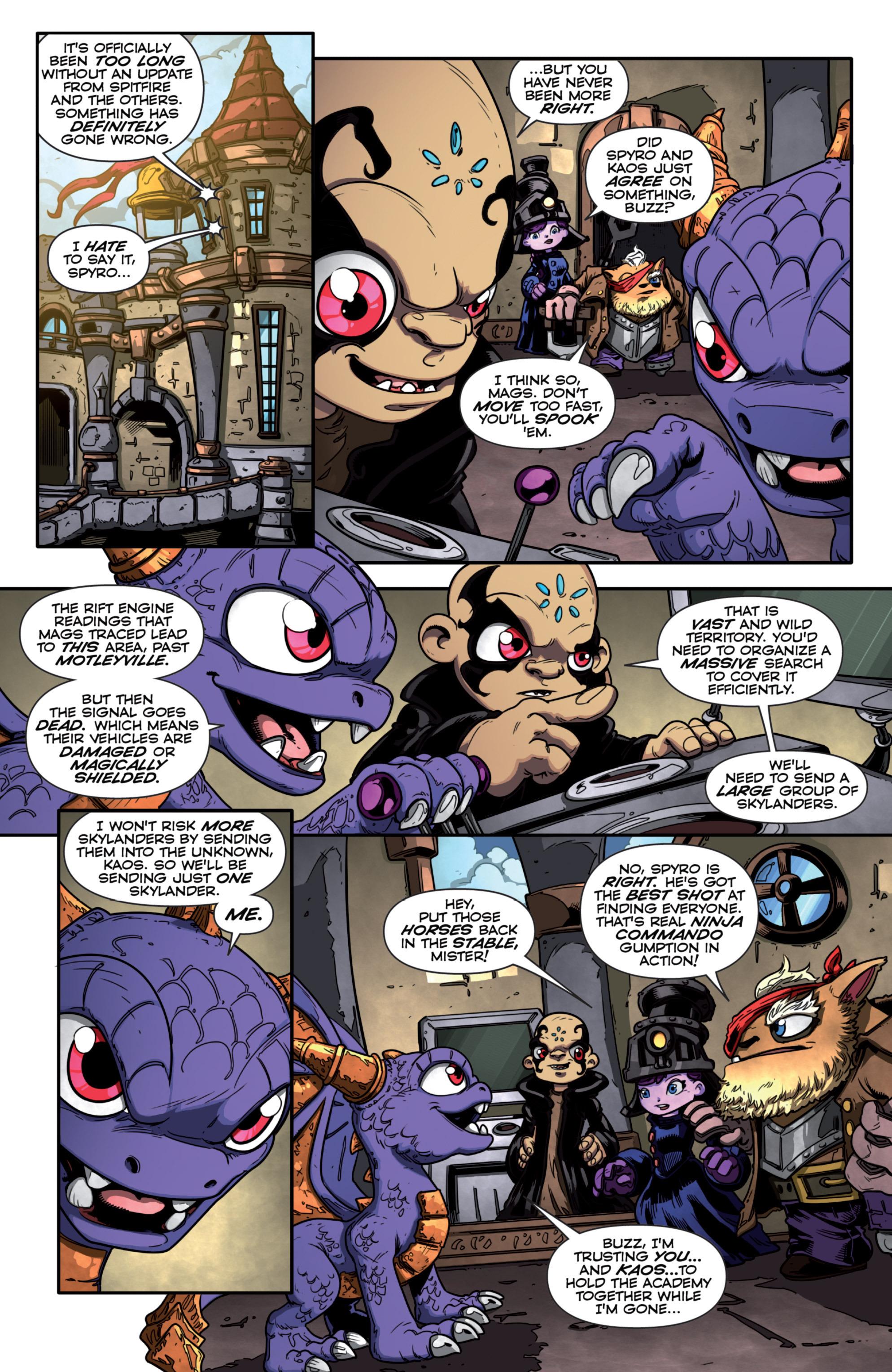 Read online Skylanders Superchargers comic -  Issue #3 - 3