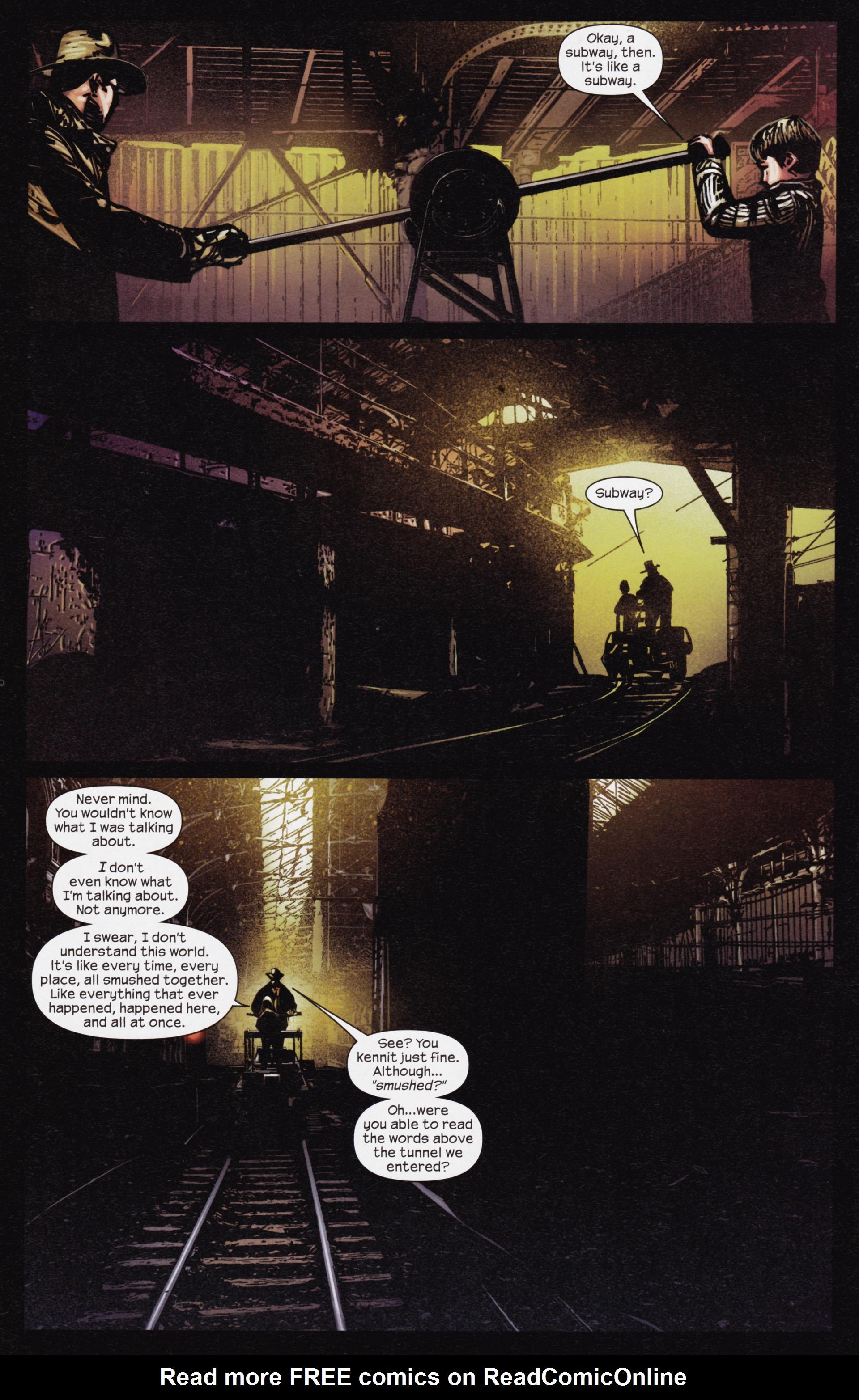 Read online Dark Tower: The Gunslinger - The Man in Black comic -  Issue #3 - 16
