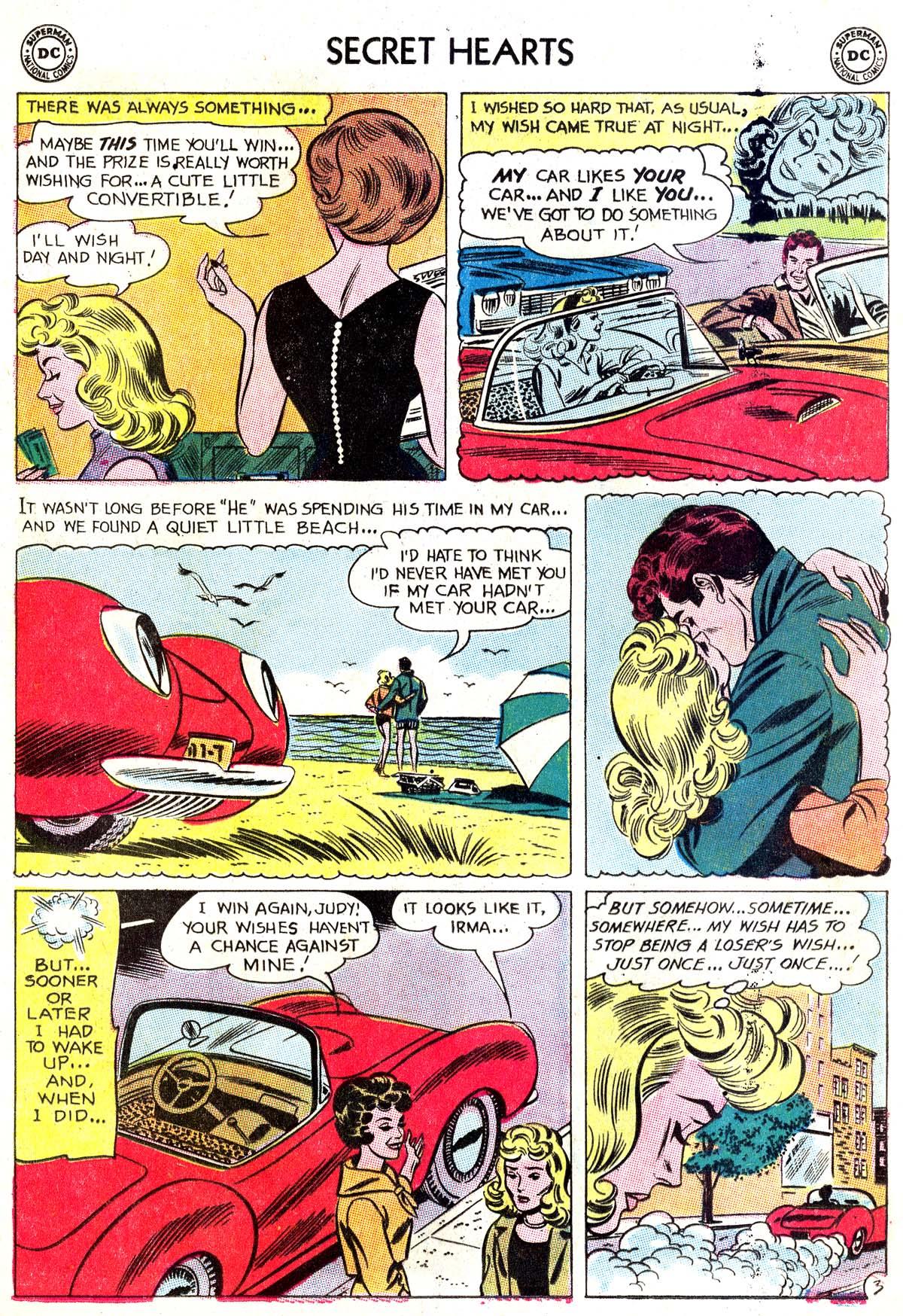 Read online Secret Hearts comic -  Issue #87 - 28