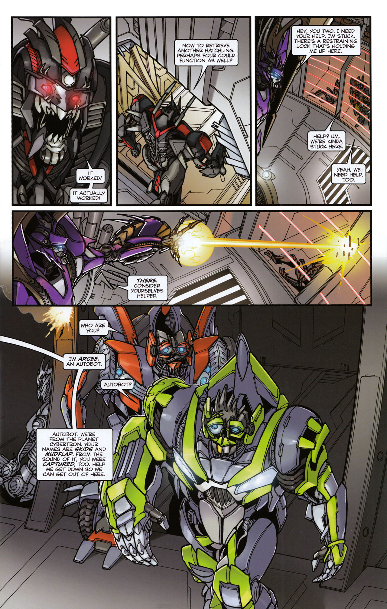 Read online Transformers: Tales of The Fallen comic -  Issue #6 - 11