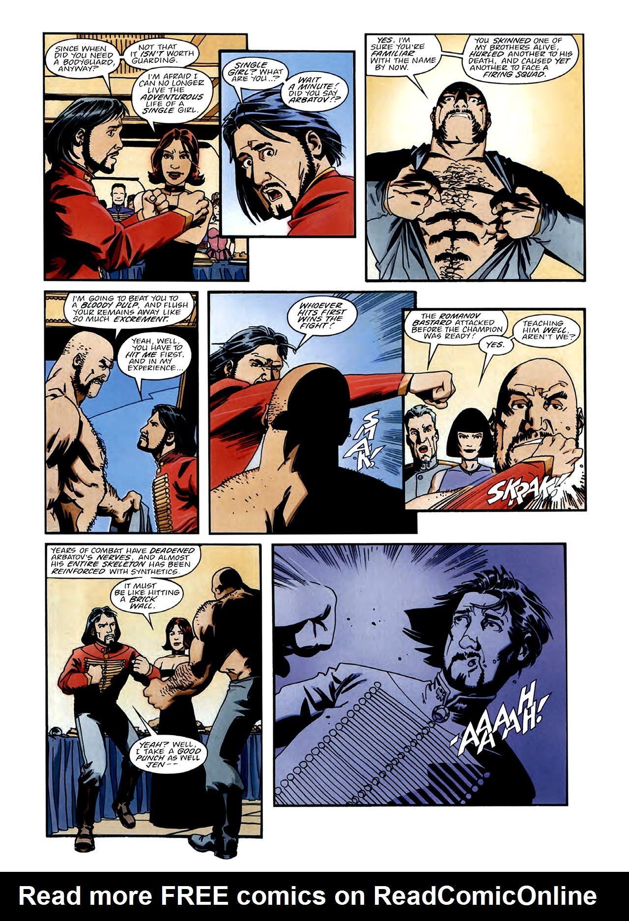 Read online Nikolai Dante comic -  Issue # TPB 3 - 10