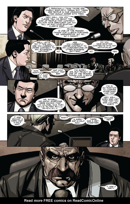 Read online Secret Warriors comic -  Issue #17 - 8