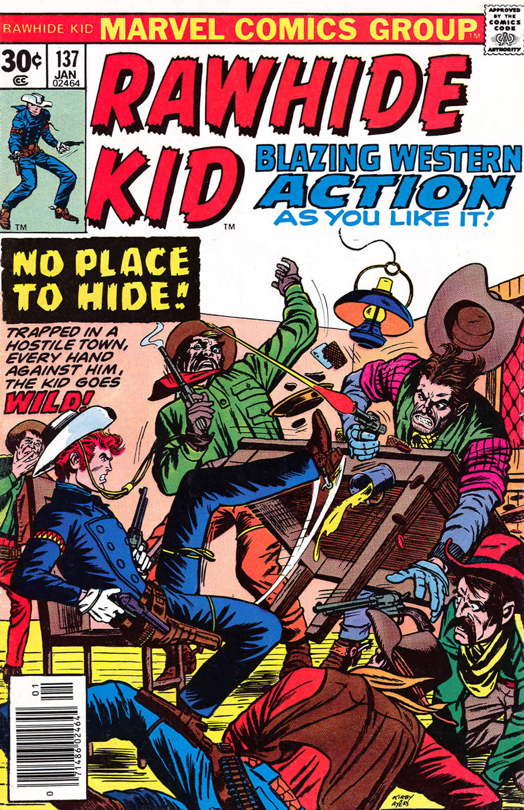 The Rawhide Kid (1955) issue 137 - Page 1
