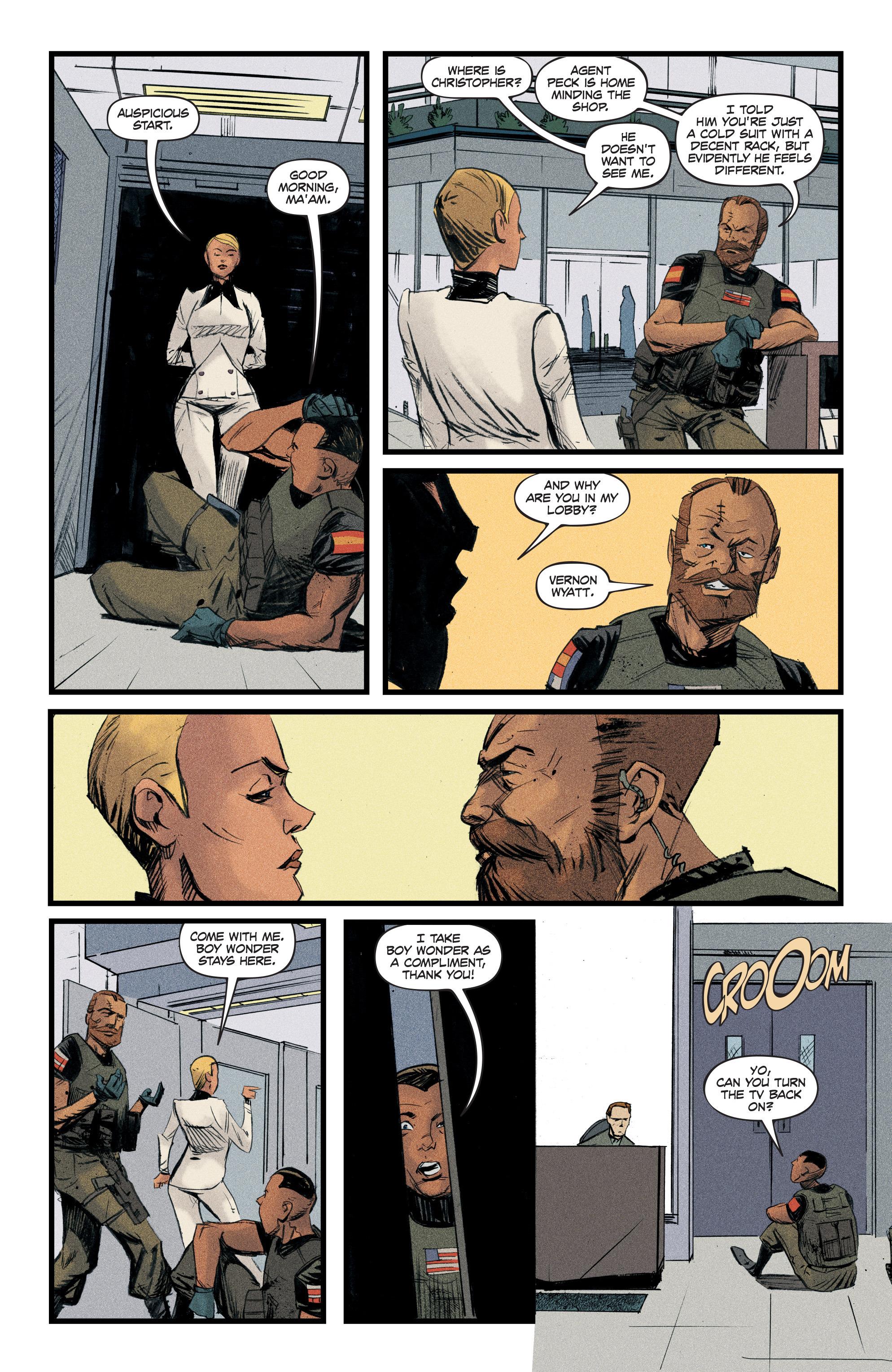 Read online Redline comic -  Issue #3 - 8