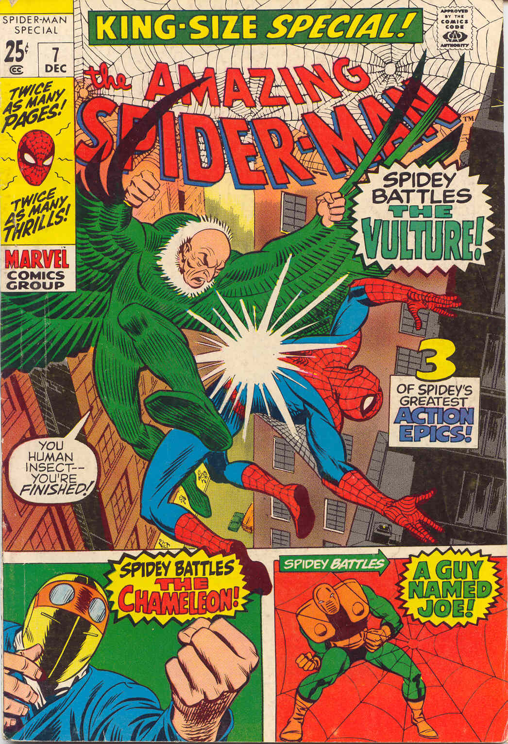 The Amazing Spider-Man (1963) _Annual_7 Page 1