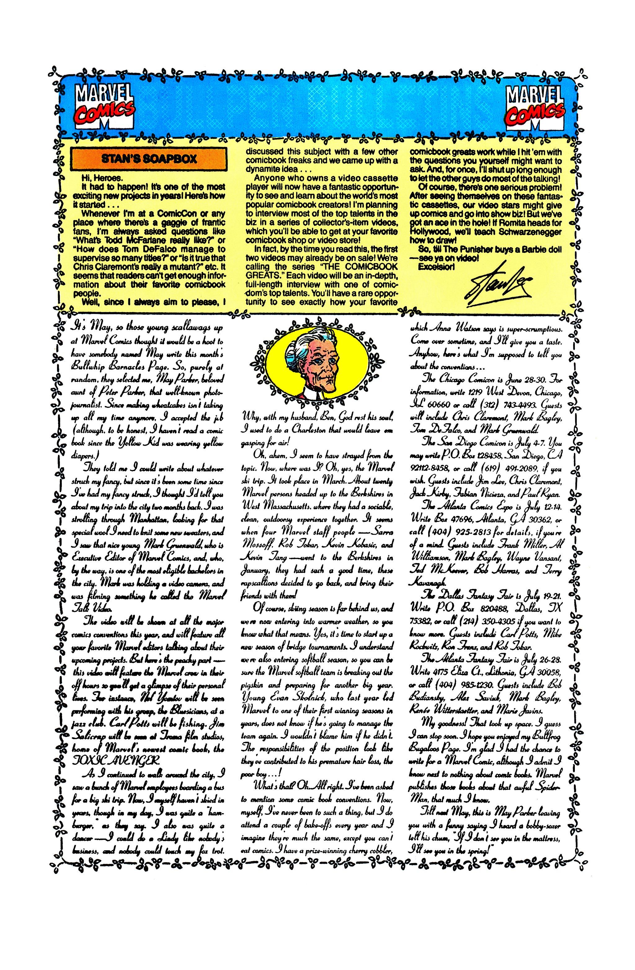 Read online Uncanny X-Men (1963) comic -  Issue #278 - 21