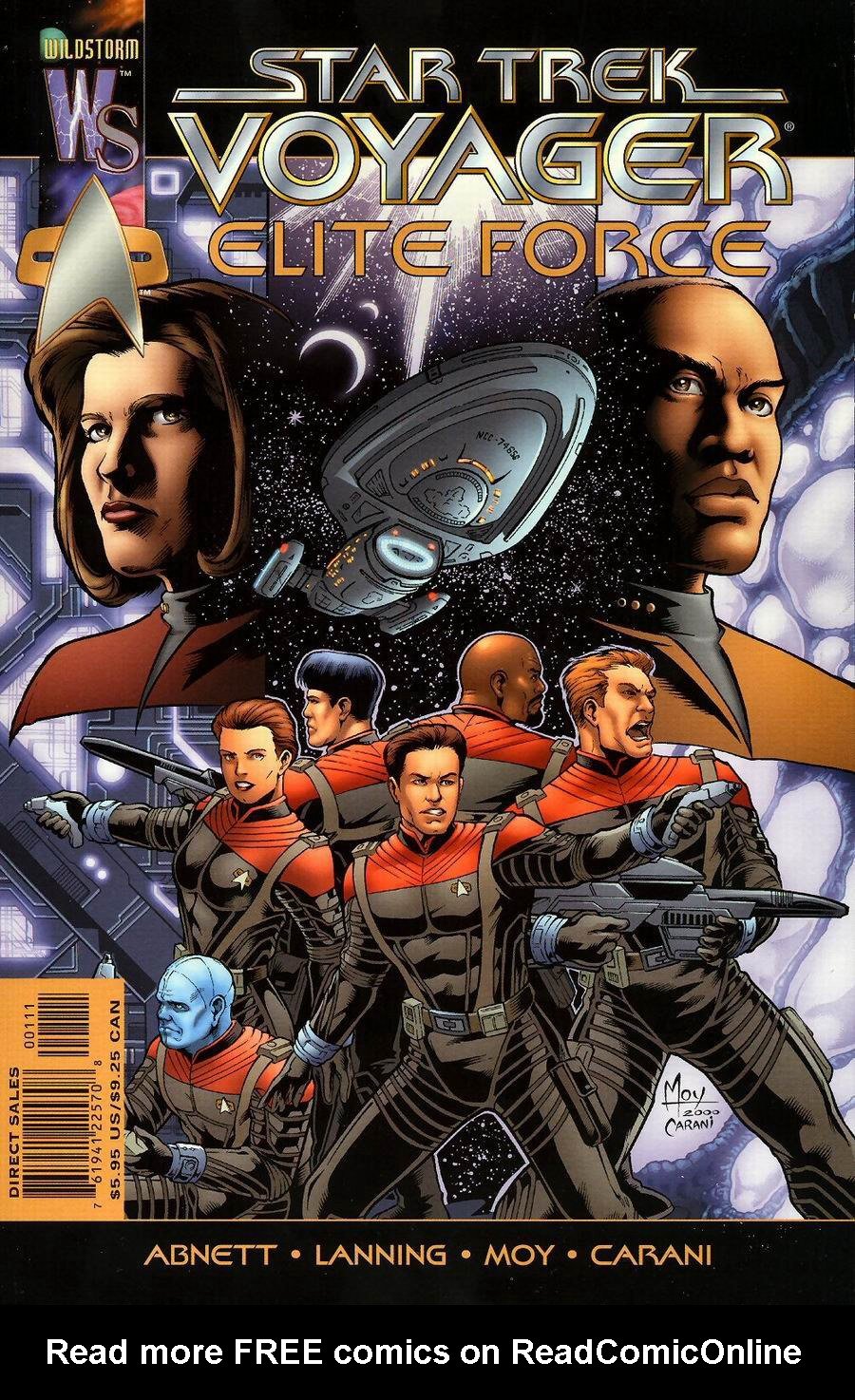Star Trek Voyager: Elite Force issue Full - Page 1