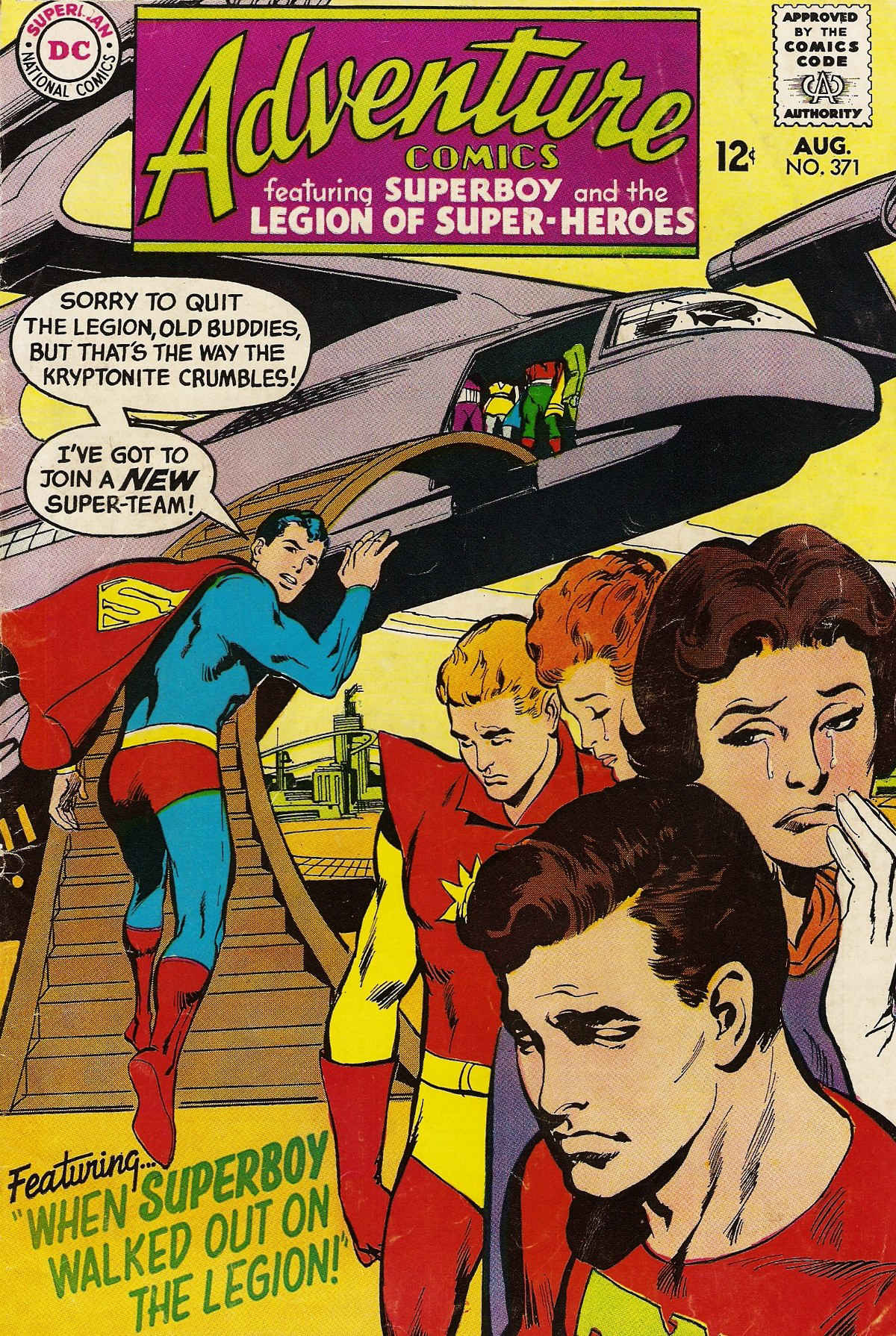 Read online Adventure Comics (1938) comic -  Issue #371 - 1