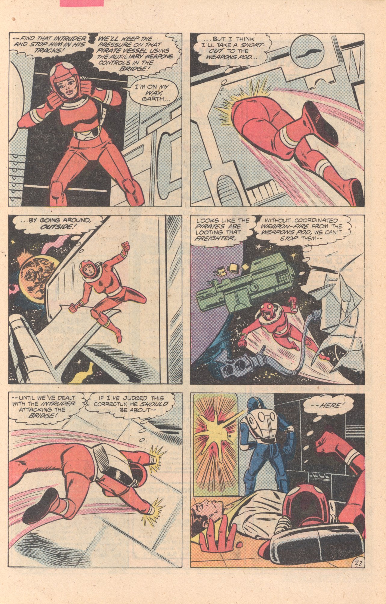 Legion of Super-Heroes (1980) 274 Page 22