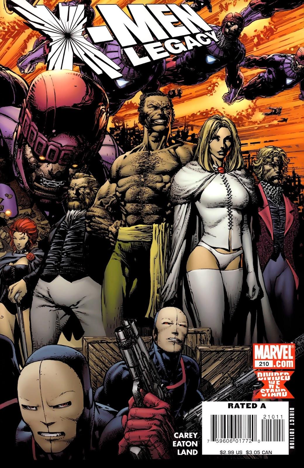 X-Men Legacy (2008) 210 Page 1