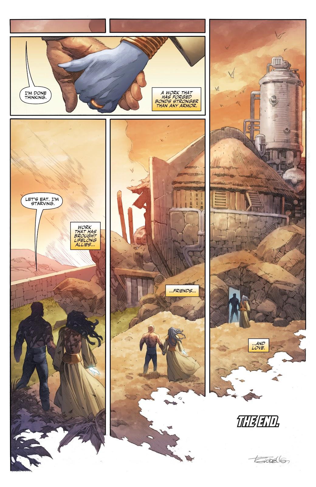 Read online X-O Manowar (2017) comic -  Issue #26 - 23