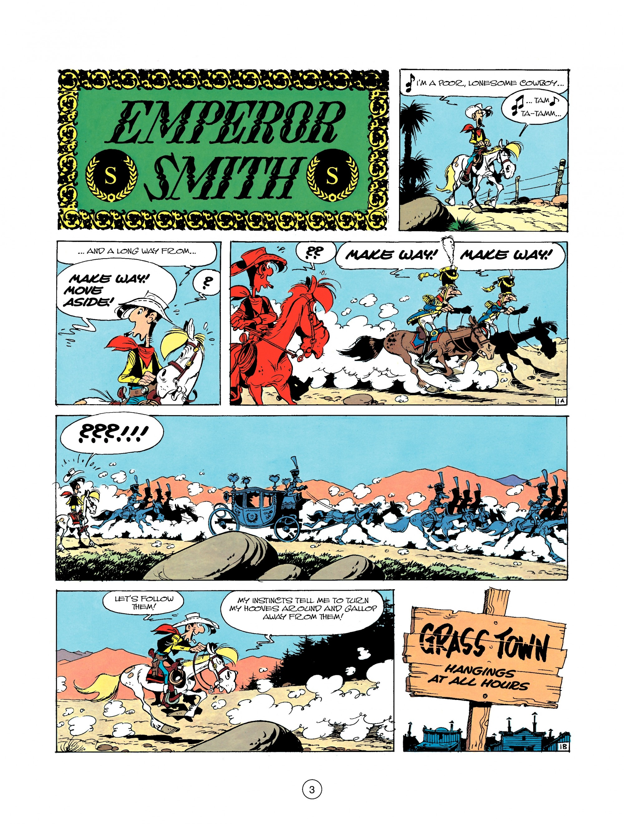 Read online A Lucky Luke Adventure comic -  Issue #22 - 3