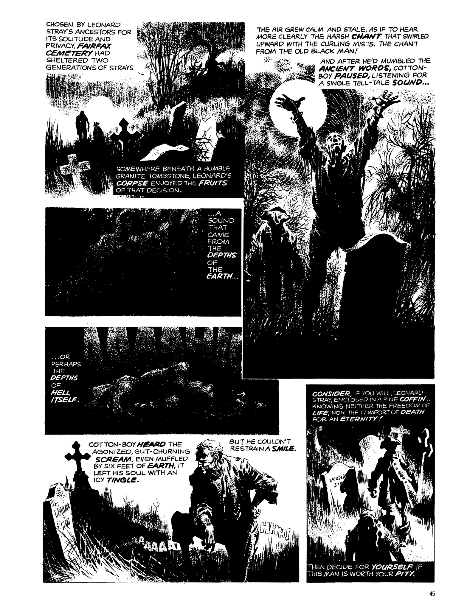 Read online Eerie Archives comic -  Issue # TPB 13 - 46