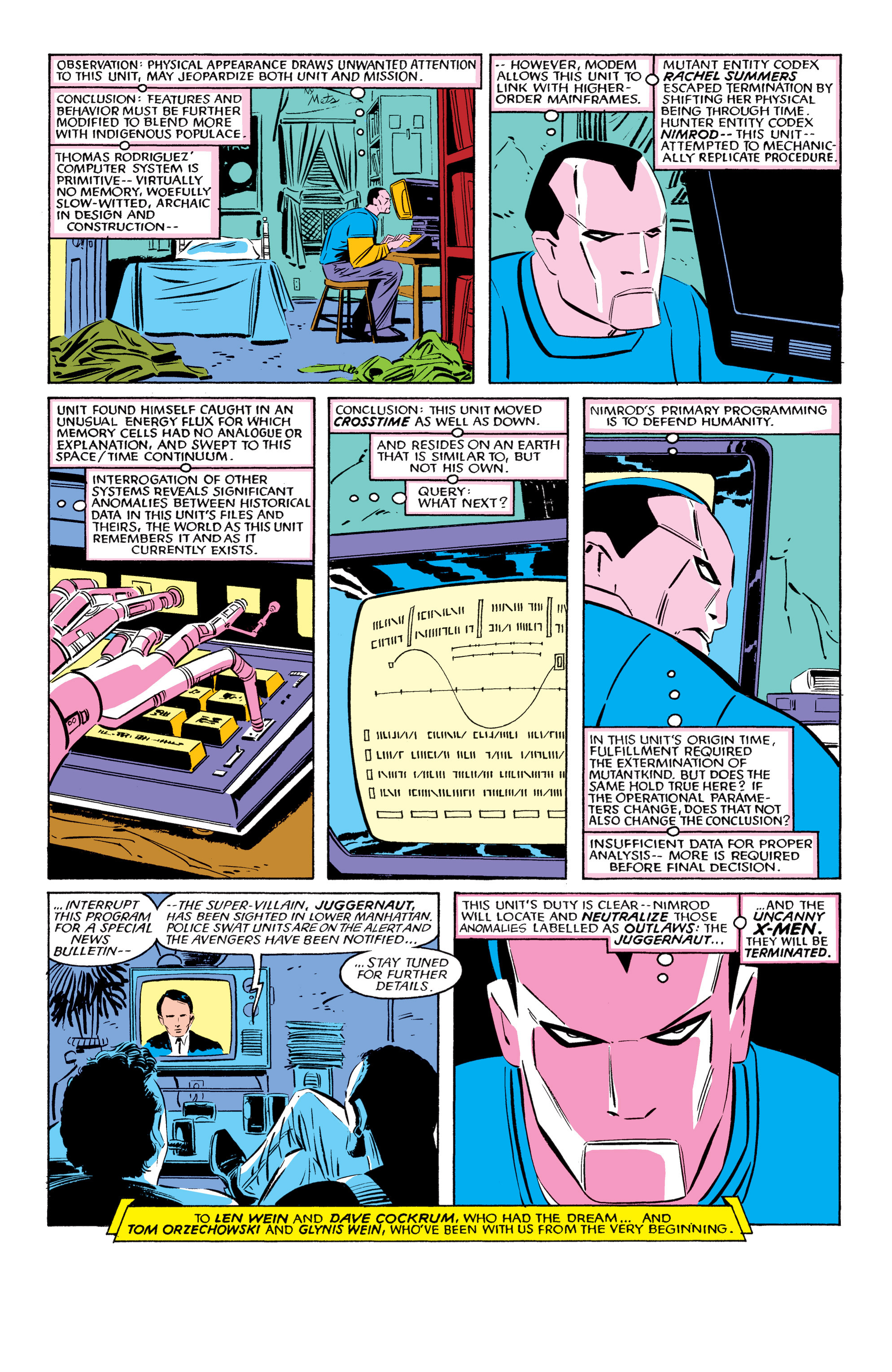 Read online Uncanny X-Men (1963) comic -  Issue #193 - 41