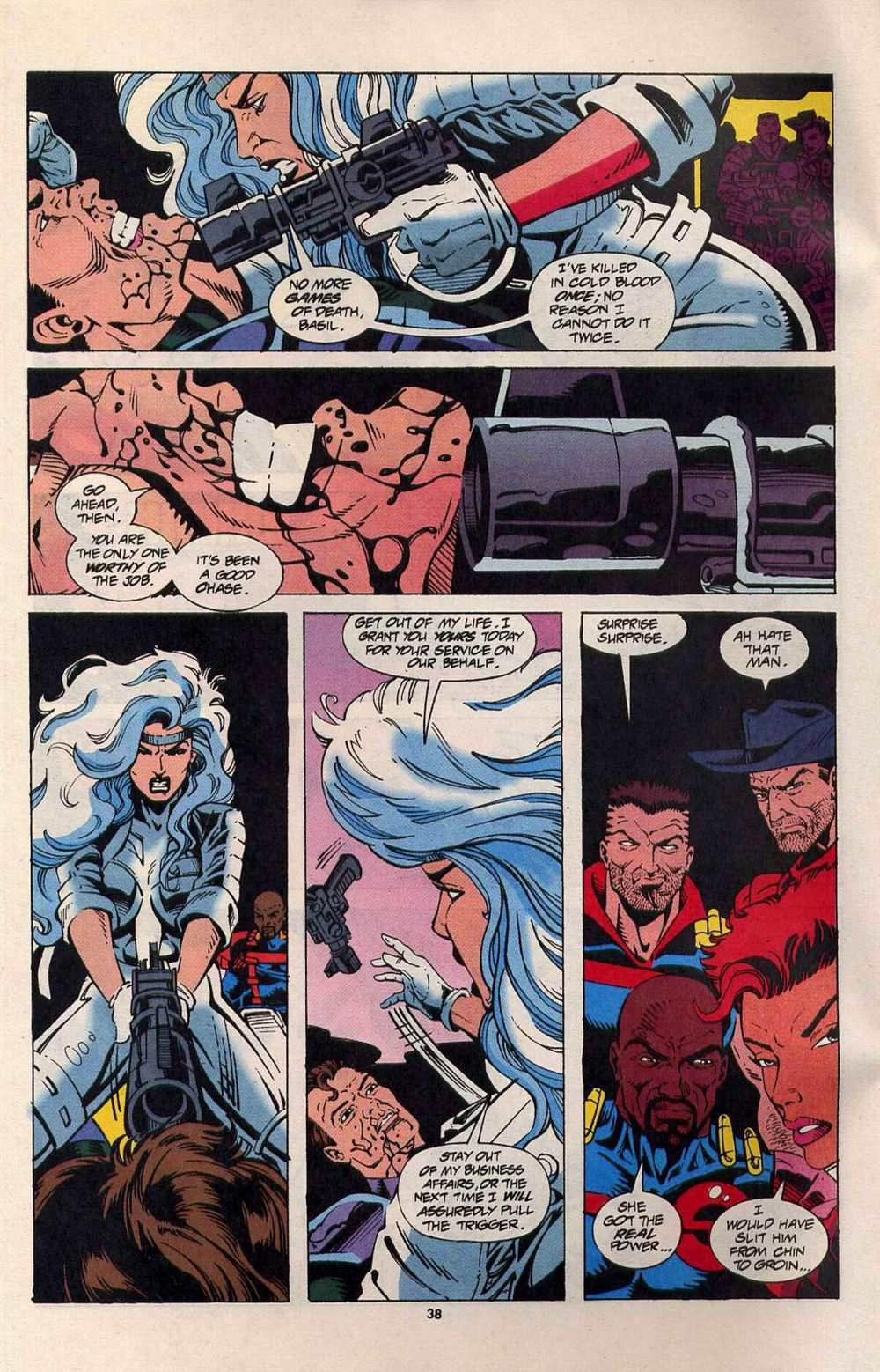 Read online Silver Sable and the Wild Pack comic -  Issue #25 - 31