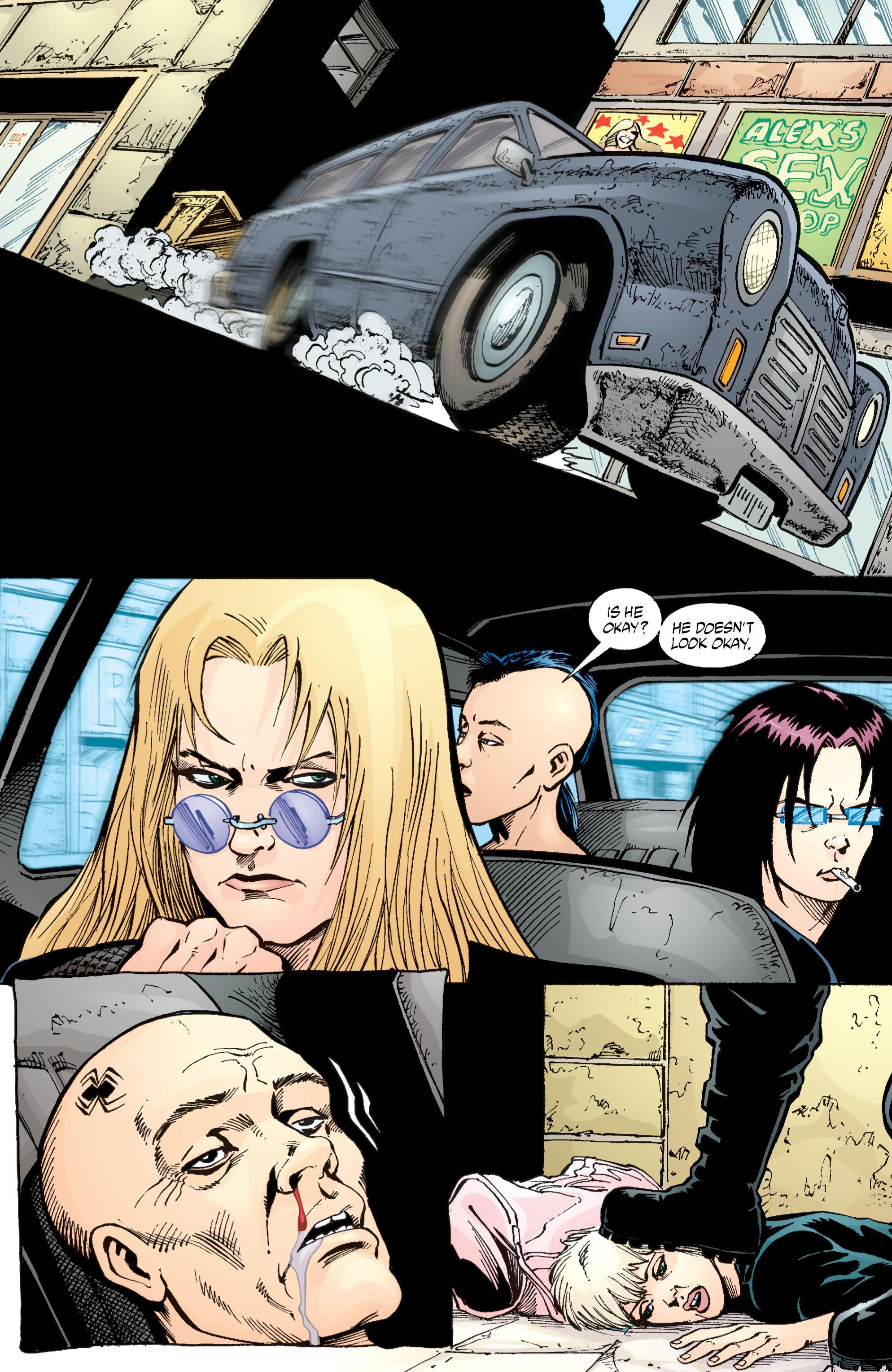 Read online Transmetropolitan comic -  Issue #55 - 12