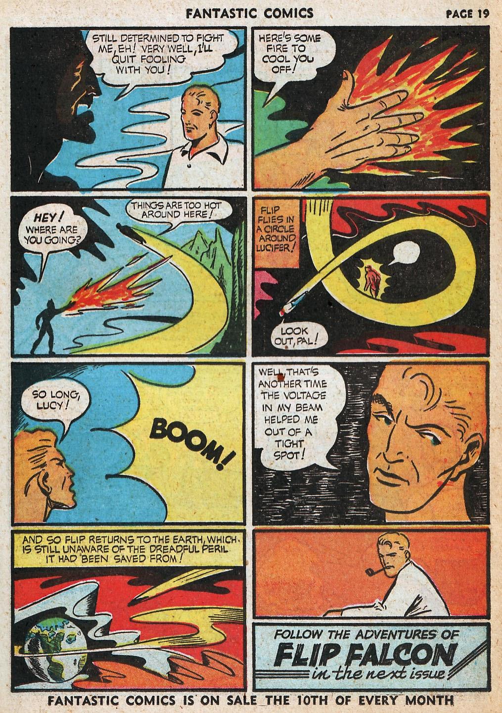 Read online Fantastic Comics comic -  Issue #20 - 20