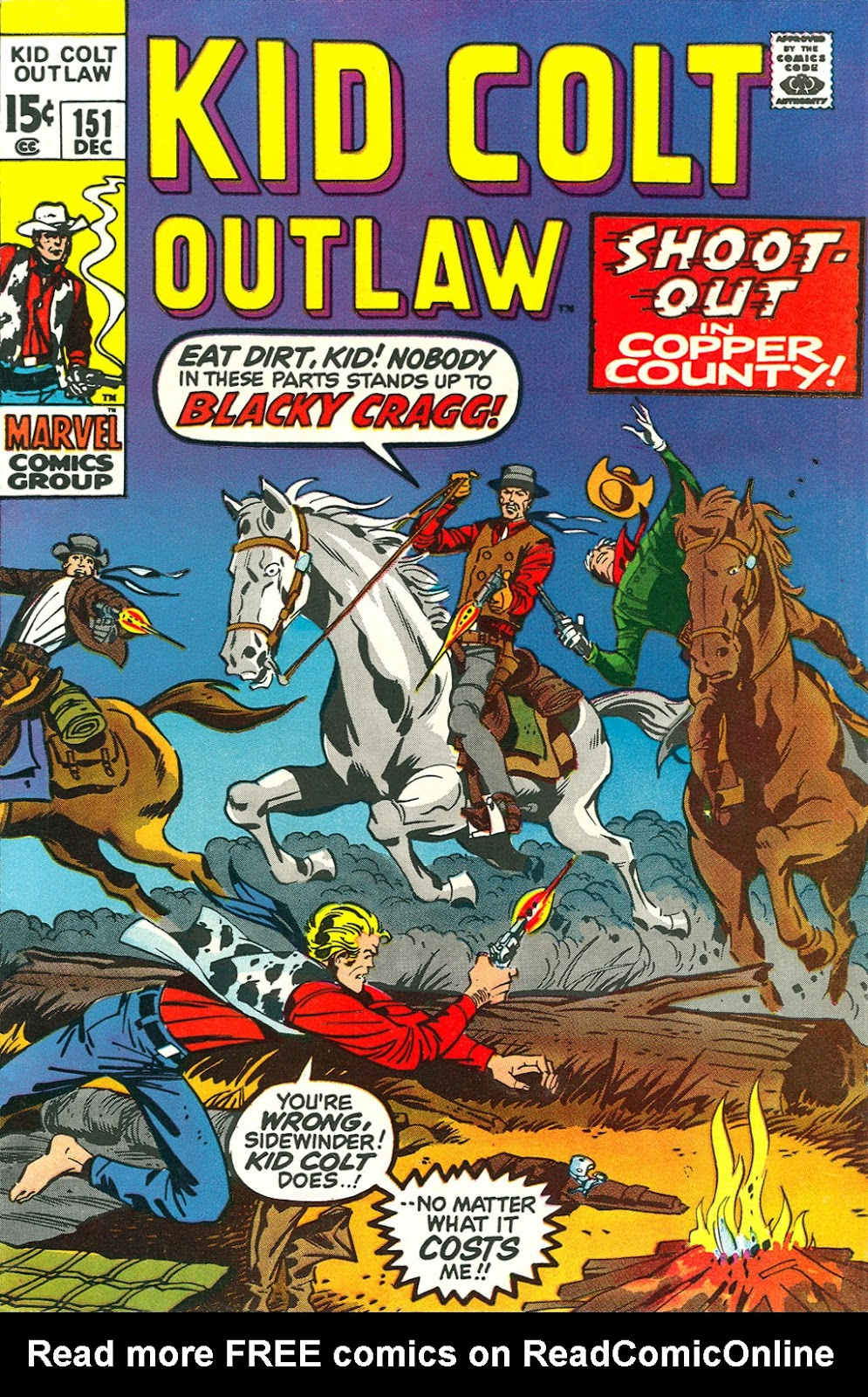 Kid Colt Outlaw issue 151 - Page 1
