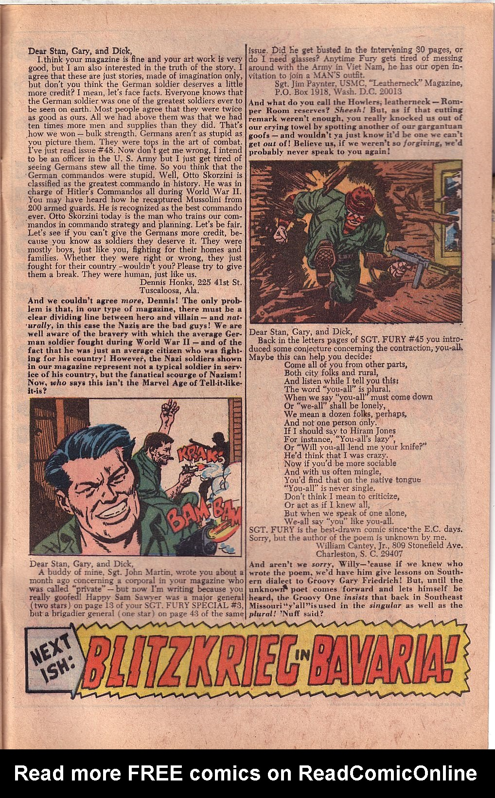 Read online Sgt. Fury comic -  Issue #52 - 33