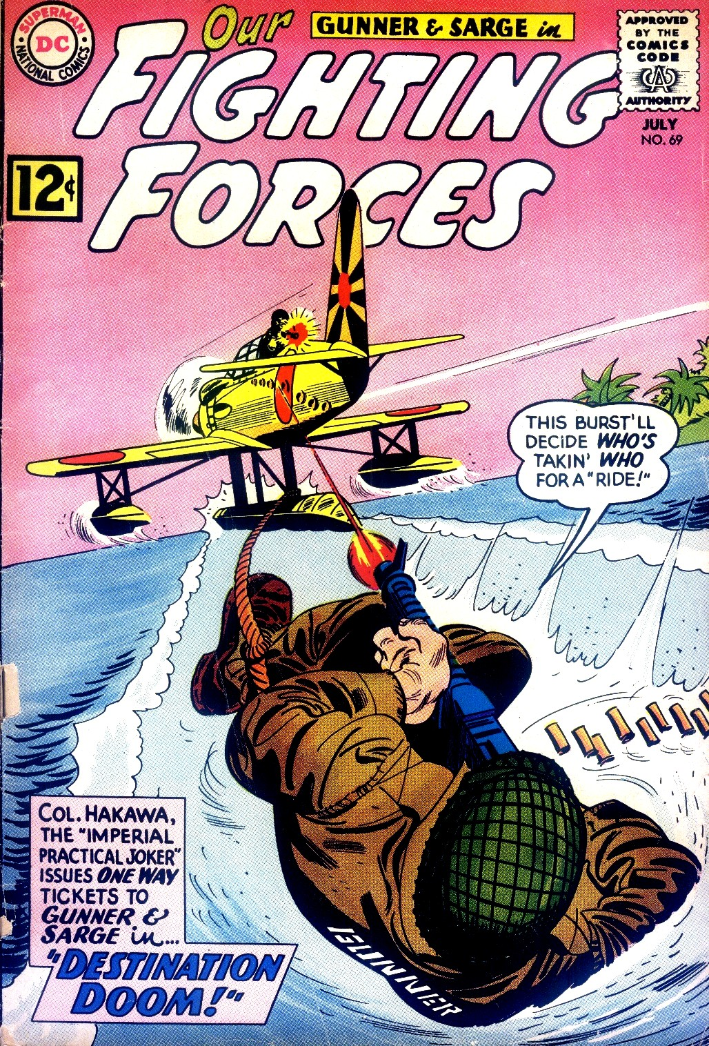 Our Fighting Forces (1954) issue 69 - Page 1