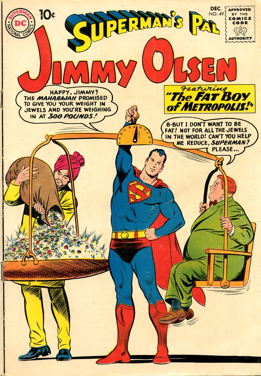 Supermans Pal Jimmy Olsen (1954) 49 Page 1