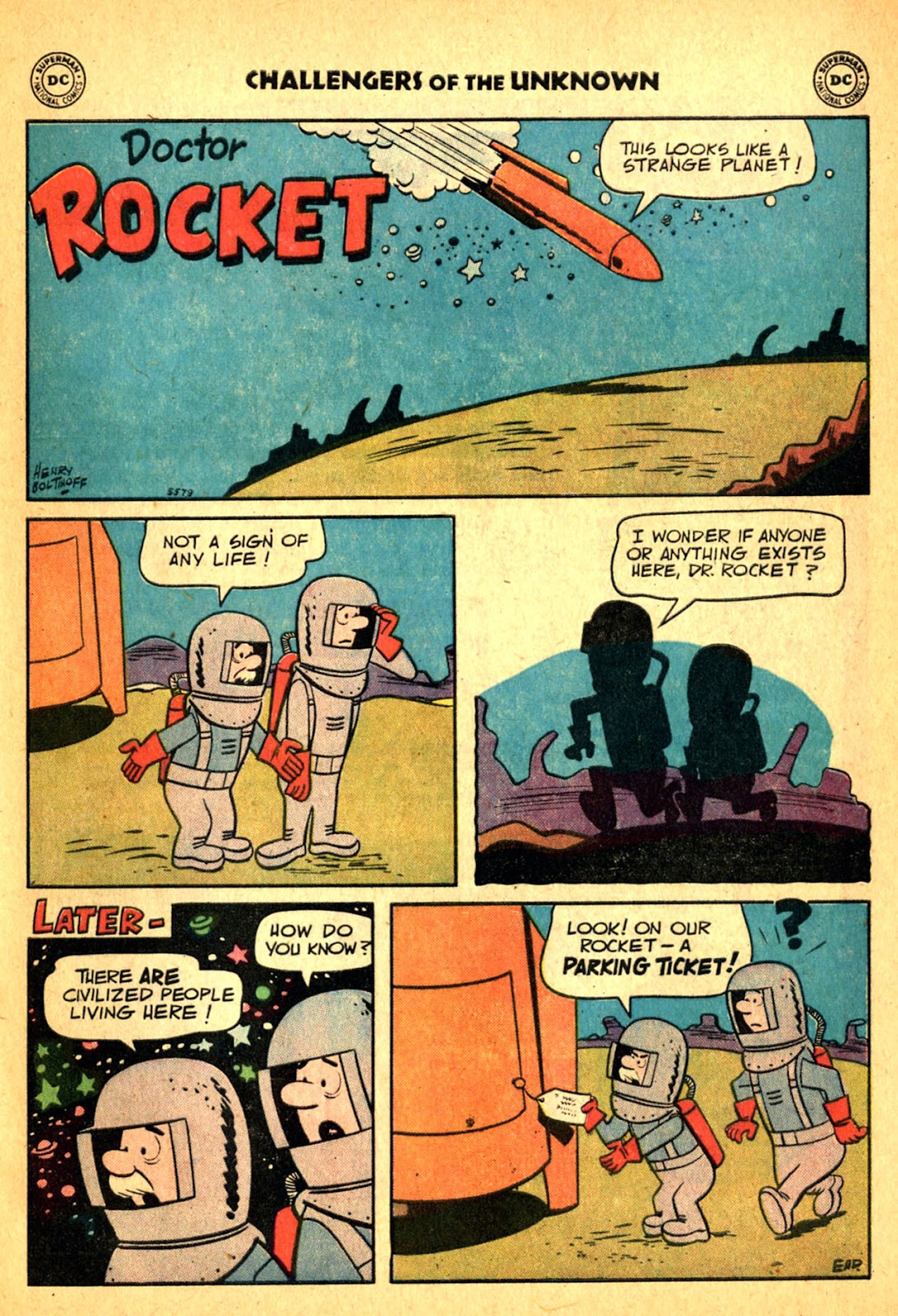 Challengers of the Unknown (1958) issue 2 - Page 33