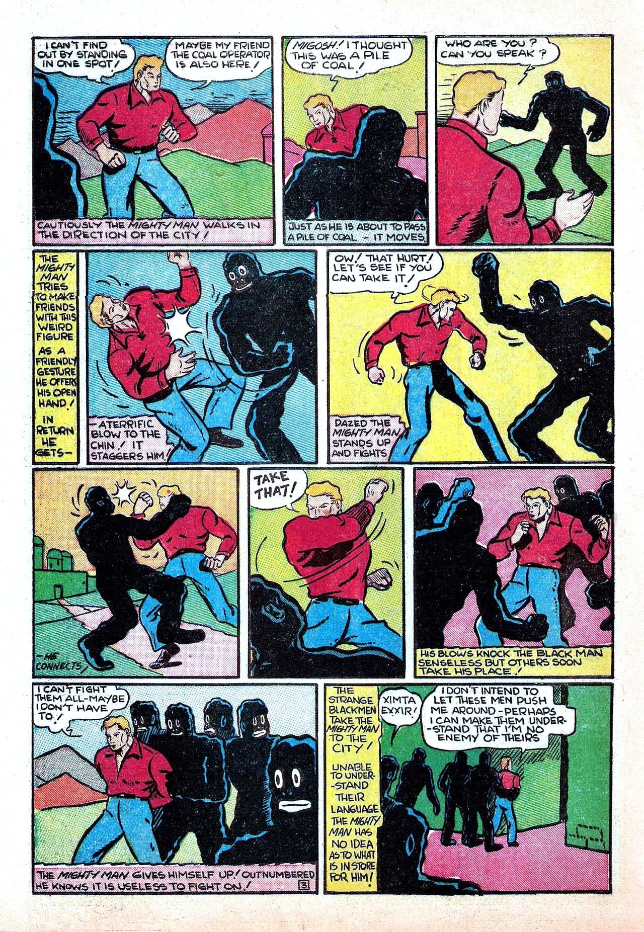 Read online Amazing Man Comics comic -  Issue #11 - 54