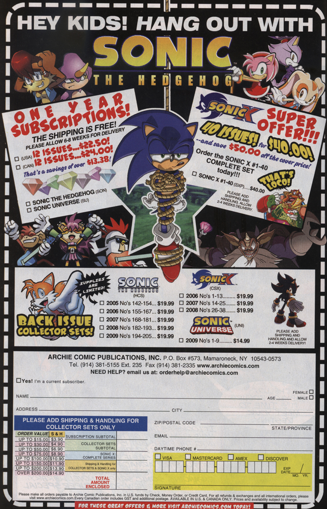 Read online Sonic Universe comic -  Issue #33 - 32